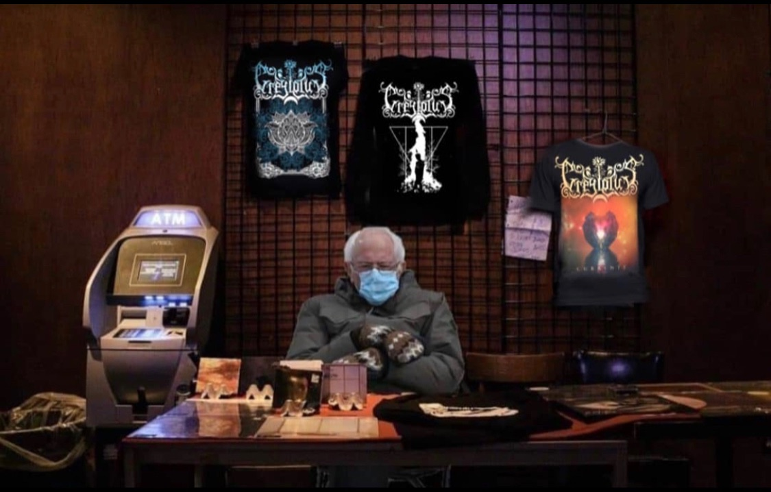 Merch Man Bernie