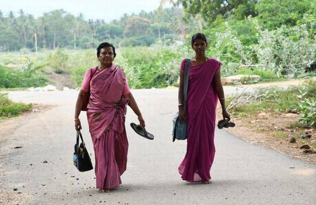 A village in Andaman where people go barefoot