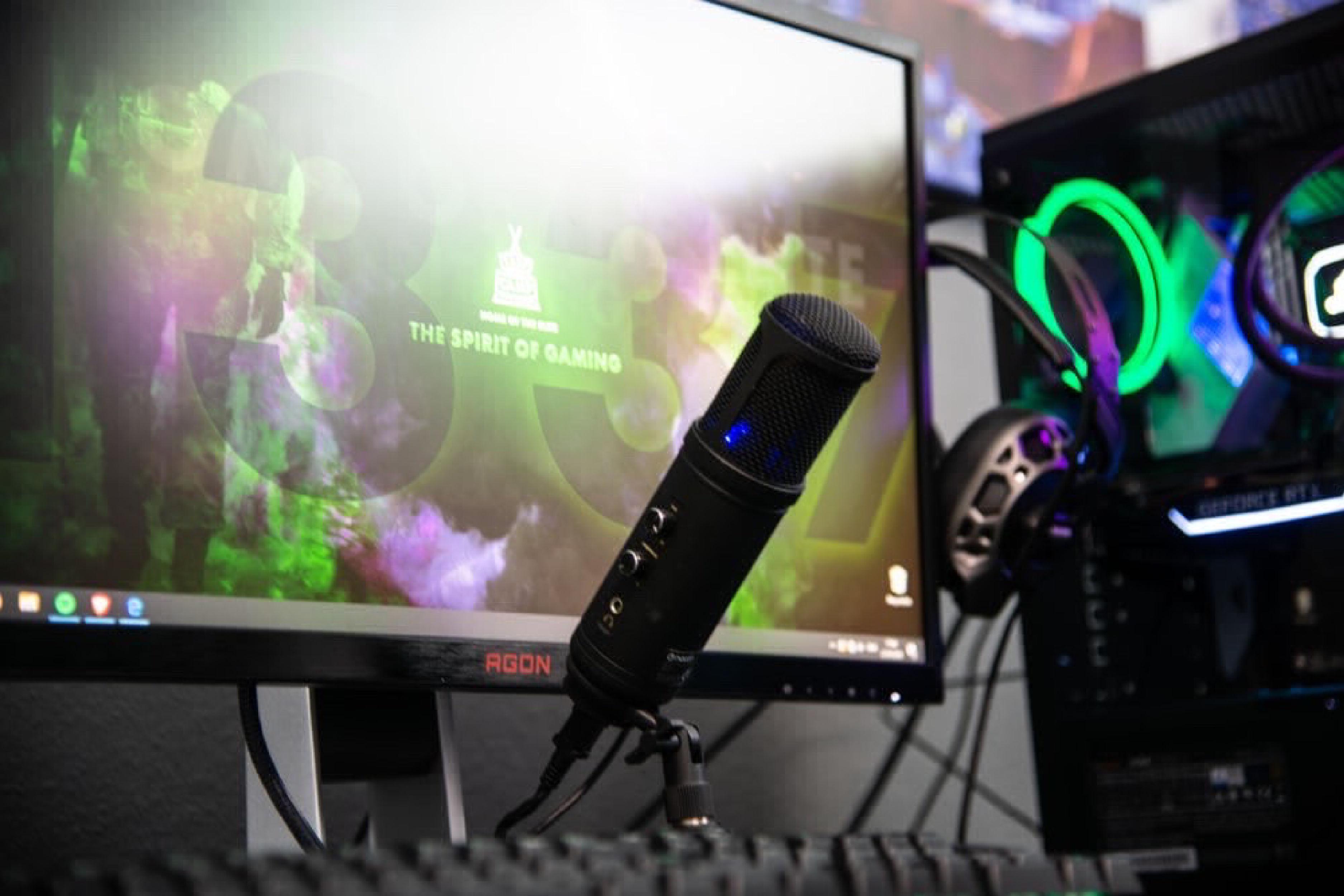 streamer setup