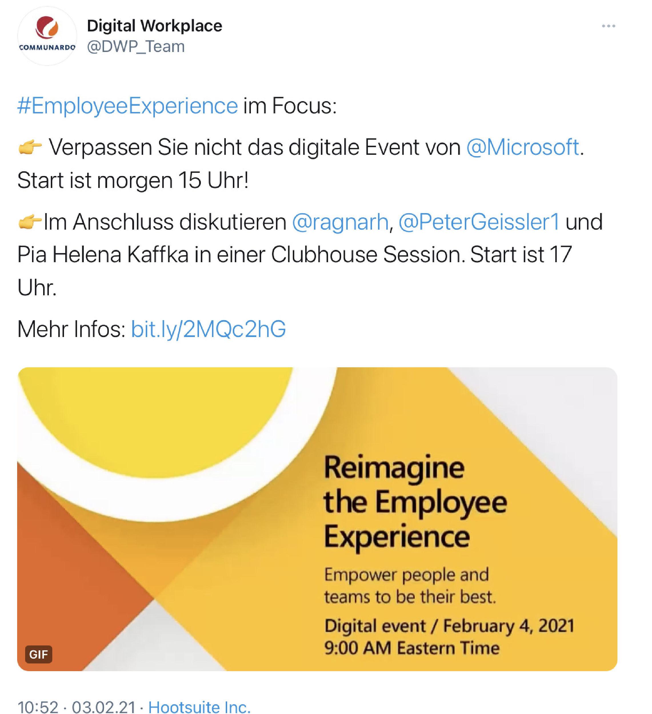 Reimagine Employee Experience