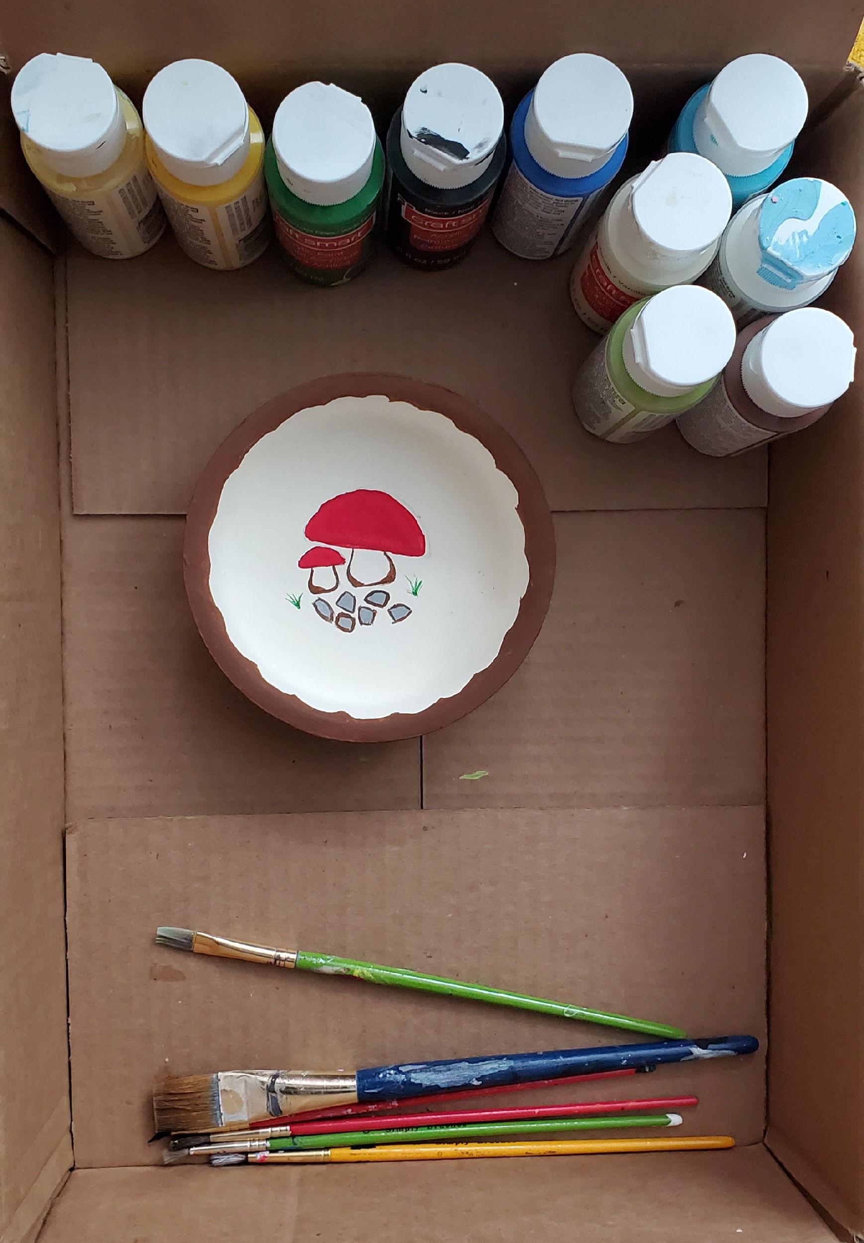 my mushroom bowl