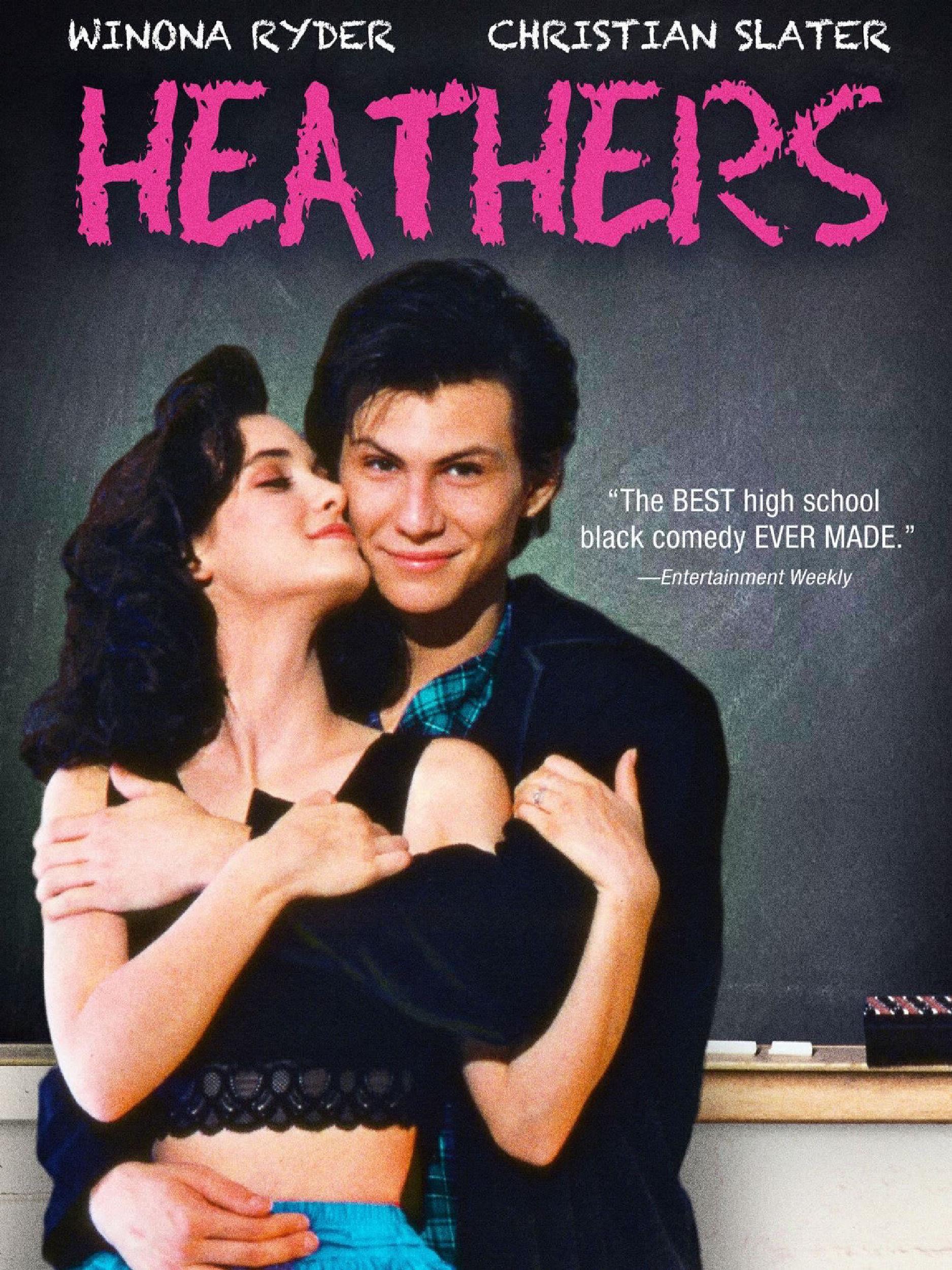 Heathers poster art