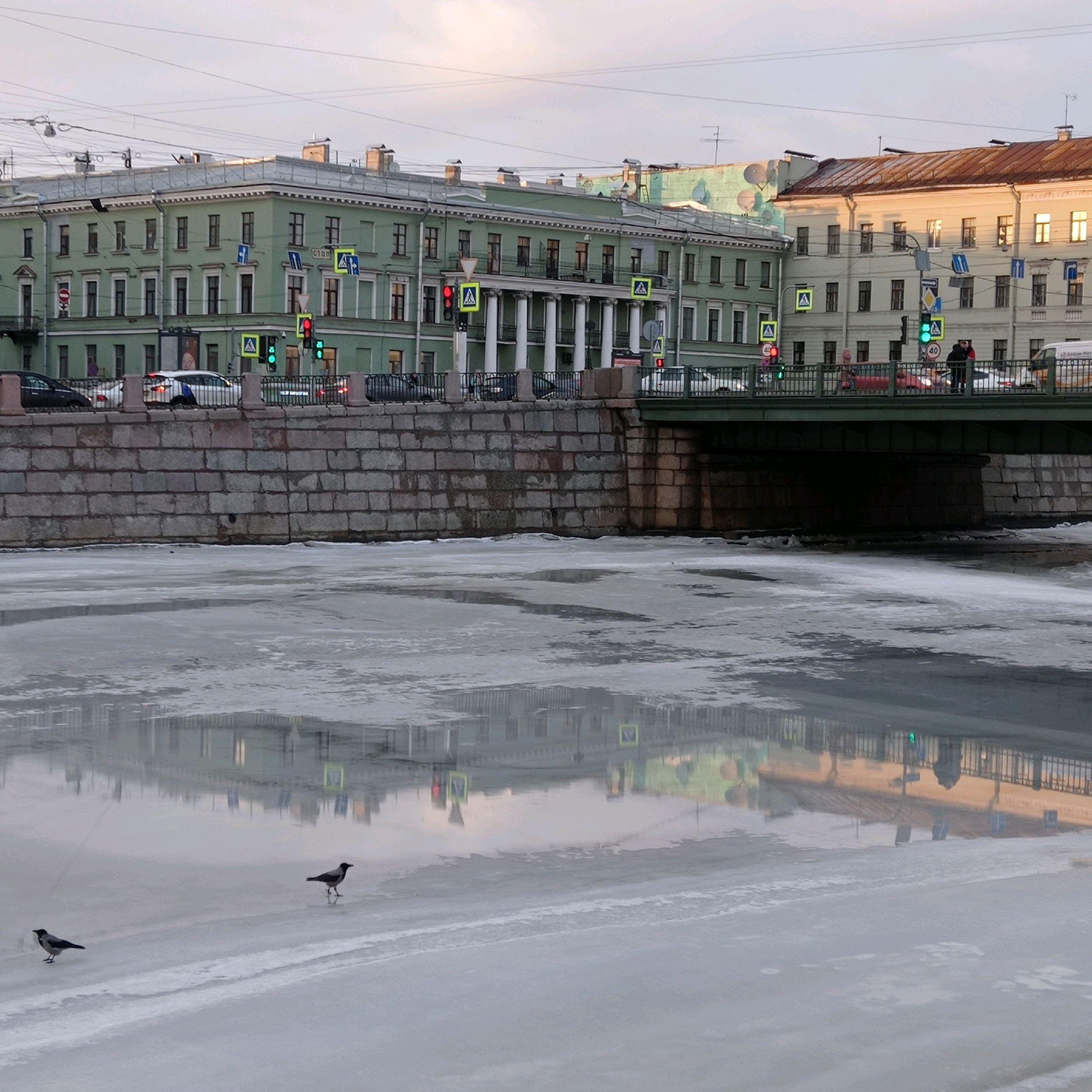 Saint Petersburg, Fontanka river