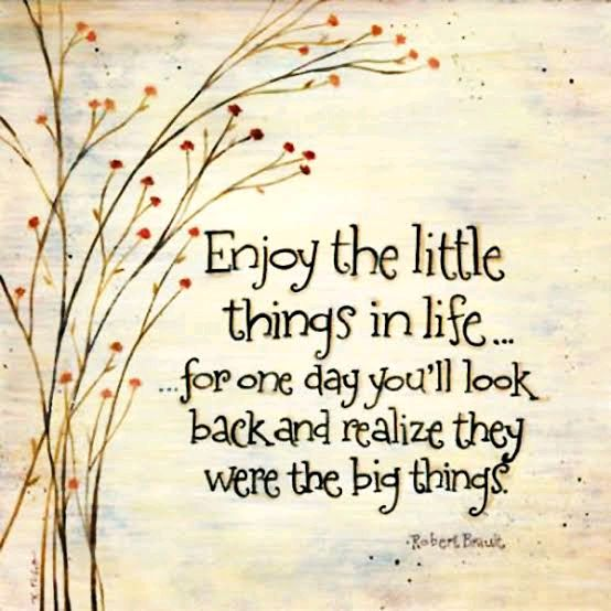 What are all the little things you enjoy..?🤔