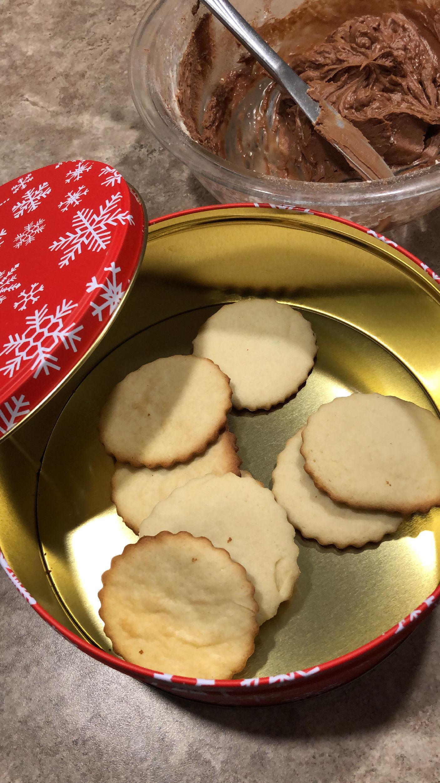 Sugar cookies night.