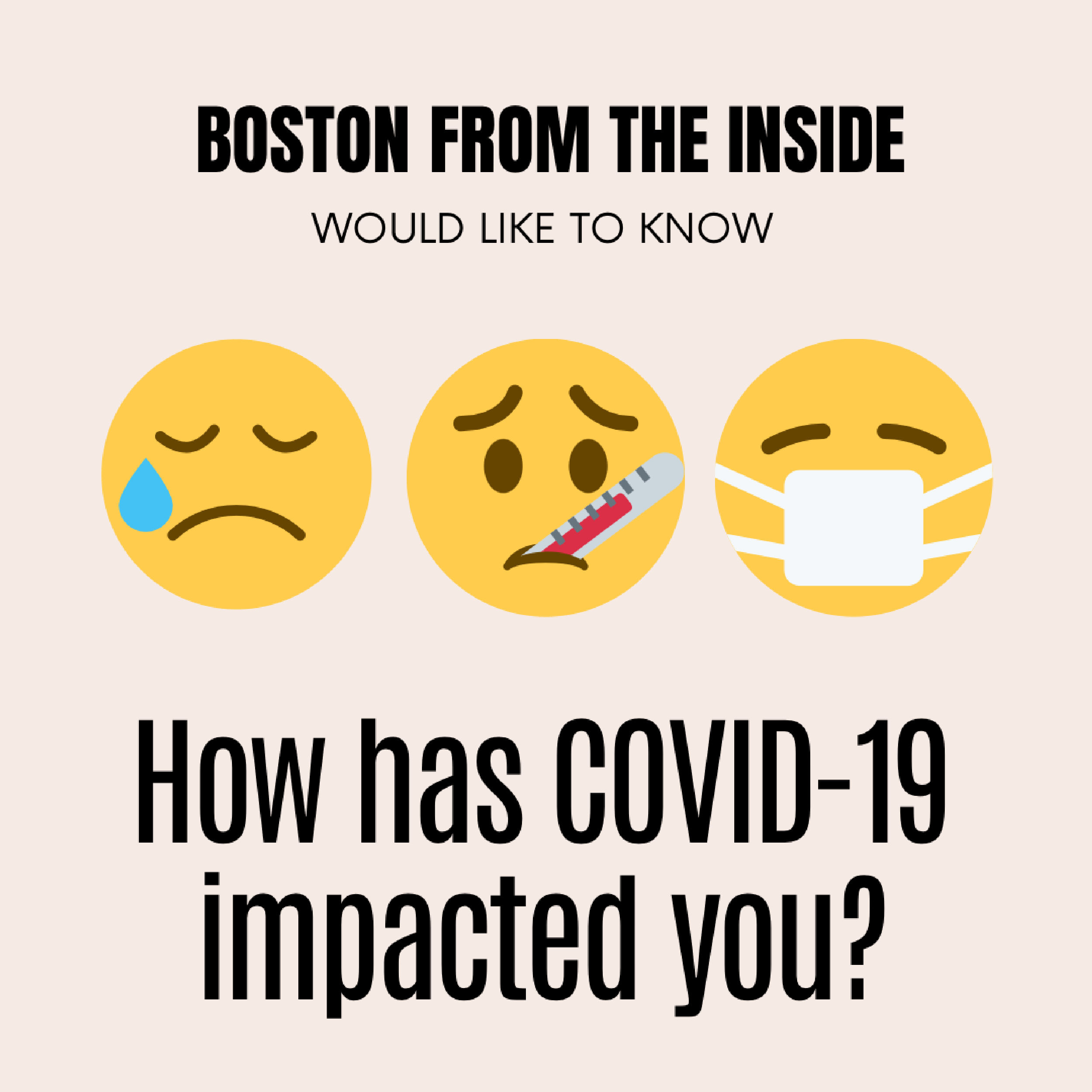 How has COVID-19 impacted you?