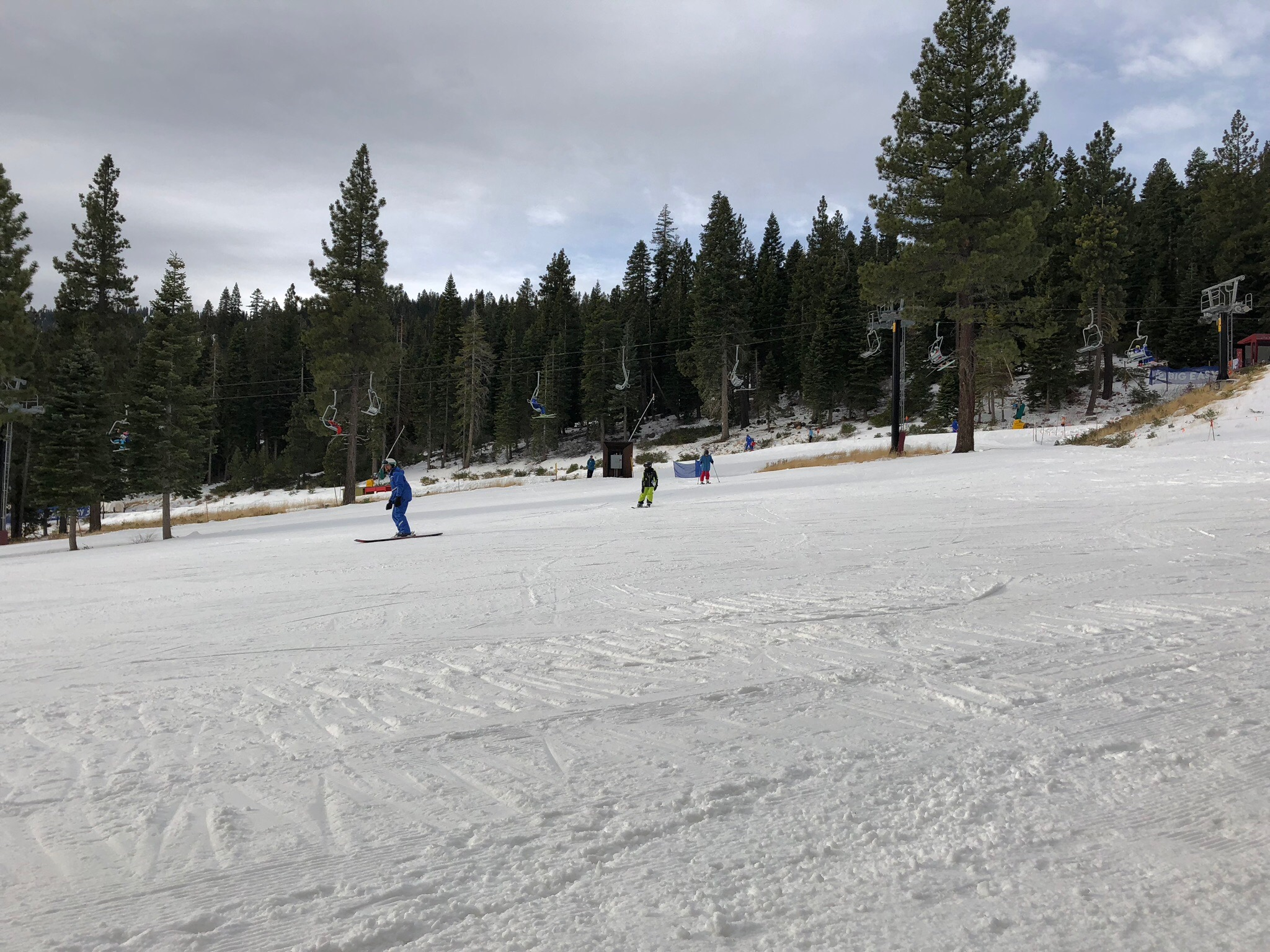 The bunny slope @Tahoe