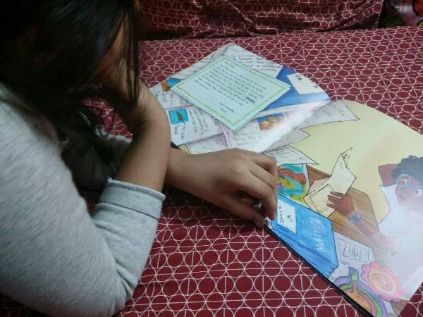 Read Aloud by Aadya - Letters to Krisha @karaditales