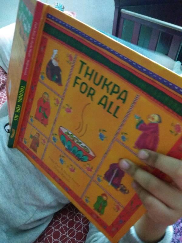 Read Aloud by Aadya 7 yrs old -Thukpa For All @karaditales