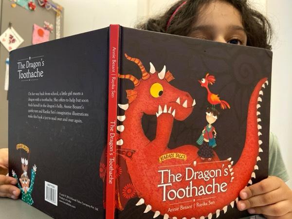 The Dragon's toothache part 1- Read aloud by Nandita @karaditales