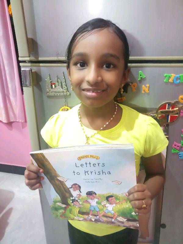 Letters to krisha episode 2 -- by B.SHAHASRA  age : 7