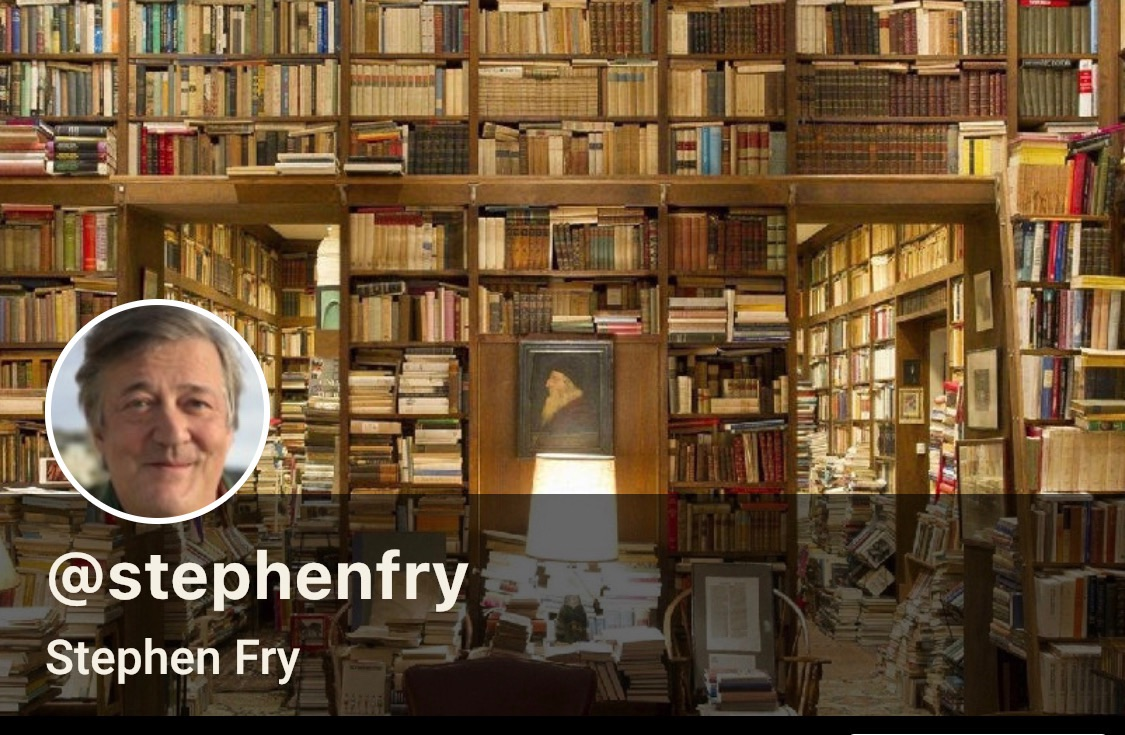 Stephen Fry On Swell
