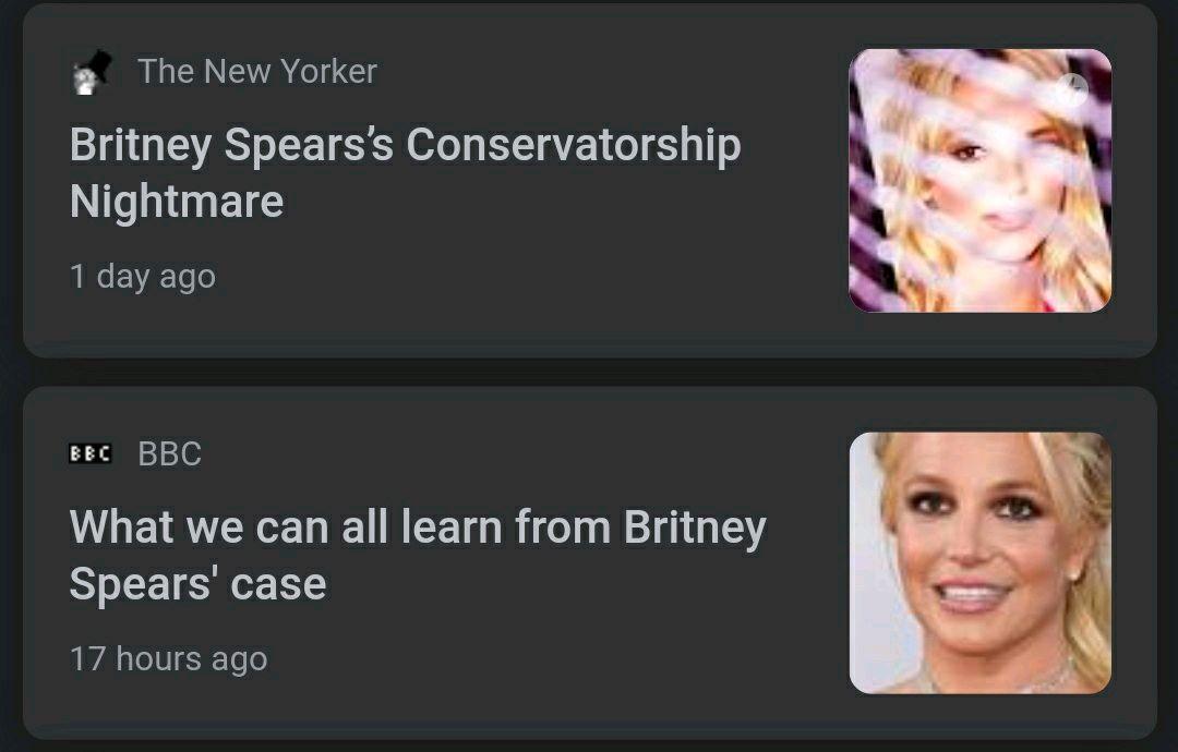 Britney's case is insane