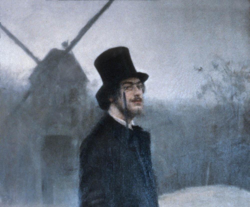 Portrait of Erik Satie