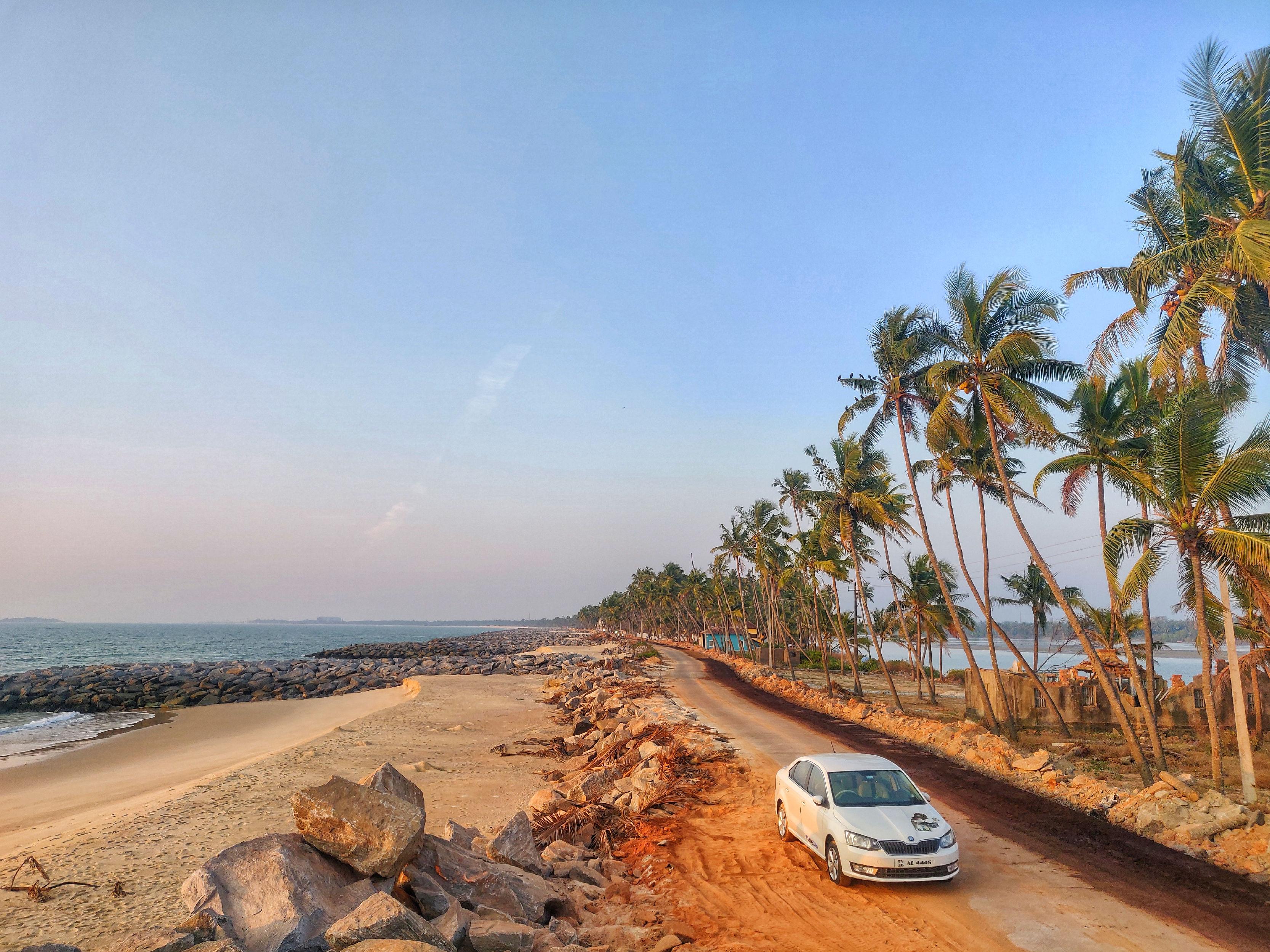 The Pithrody beach , Karnataka