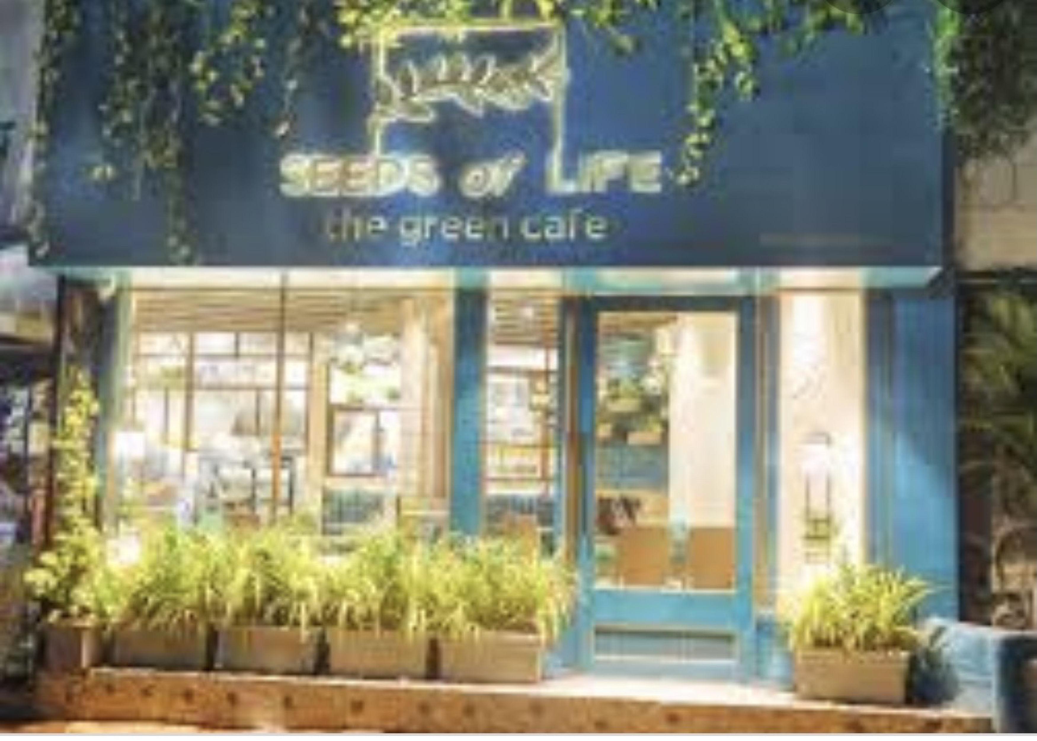 Seeds of life is a very popular vegan restaurant!