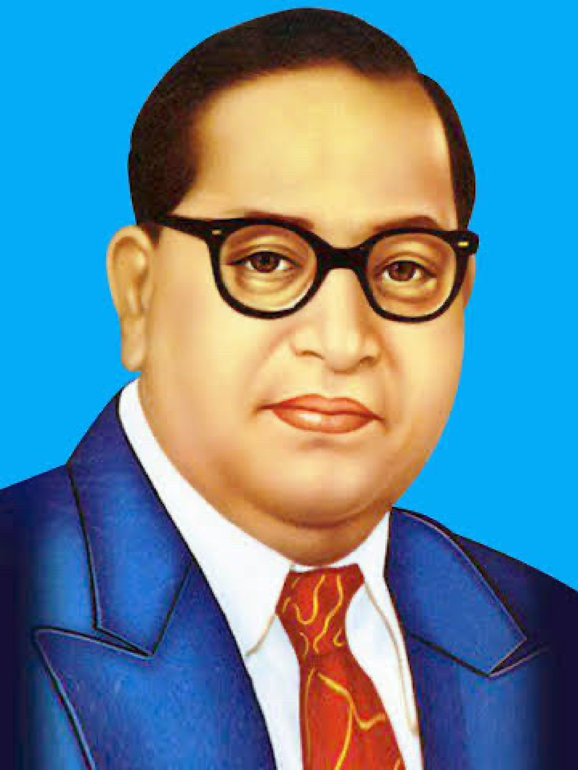 Ambedkar- the chairman of the Indian constitution