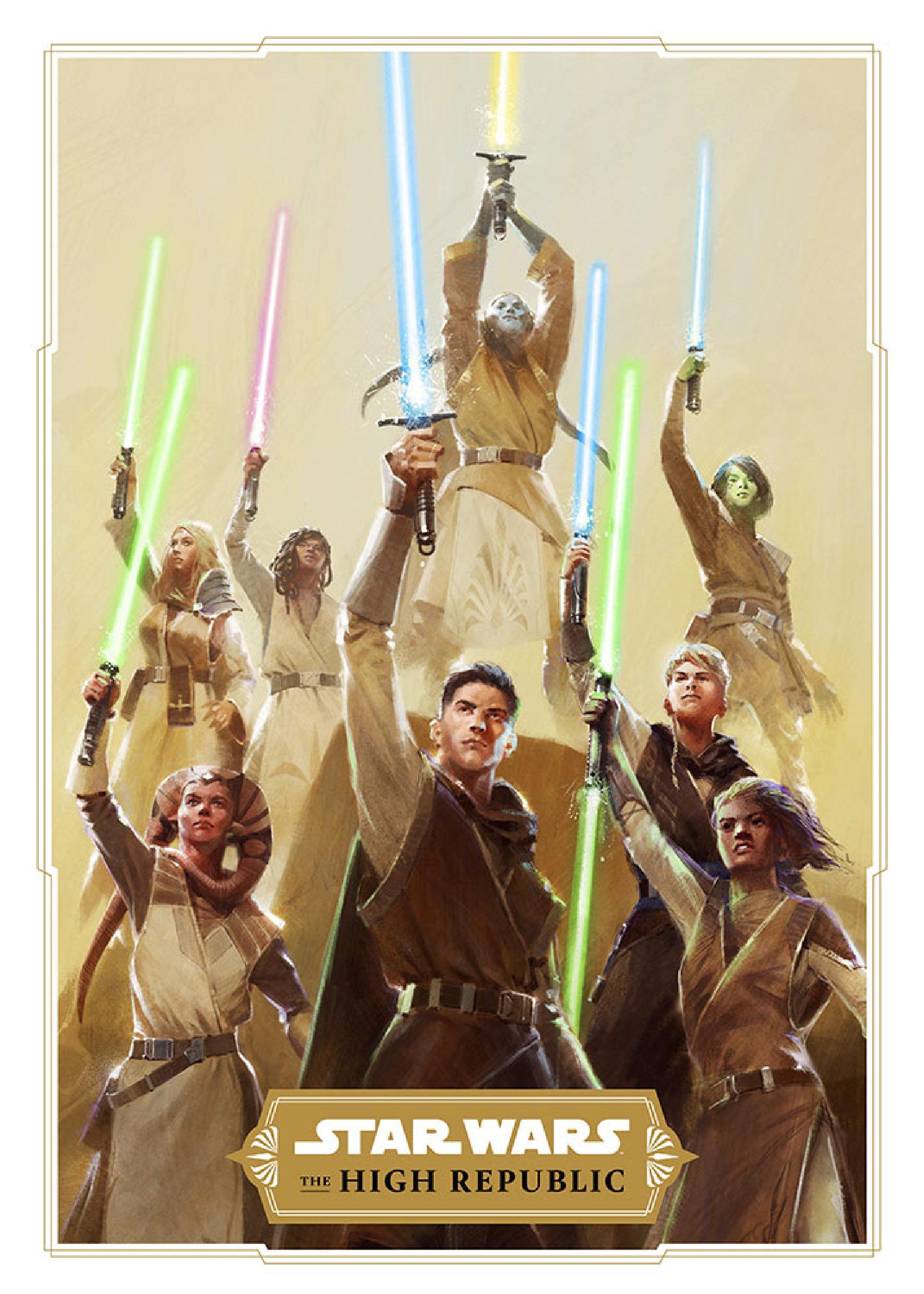 Jedi looking sharp