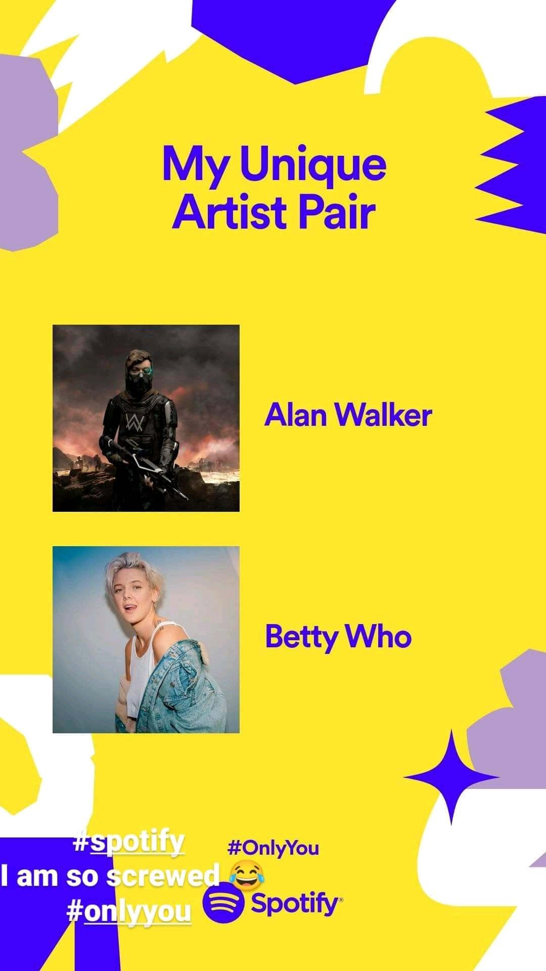 Alan Walker and Betty Who
