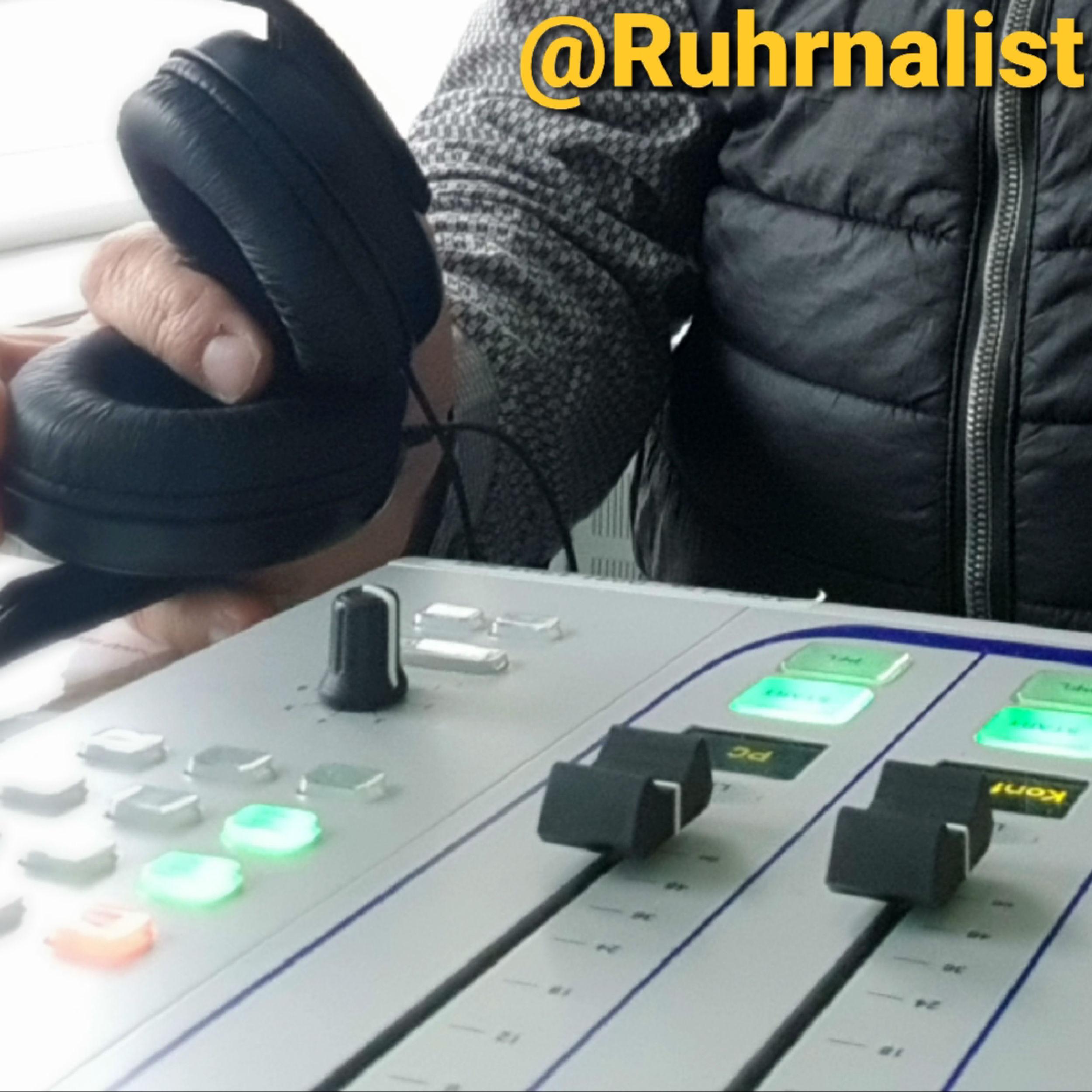 Ruhrnalist beim Podcast
