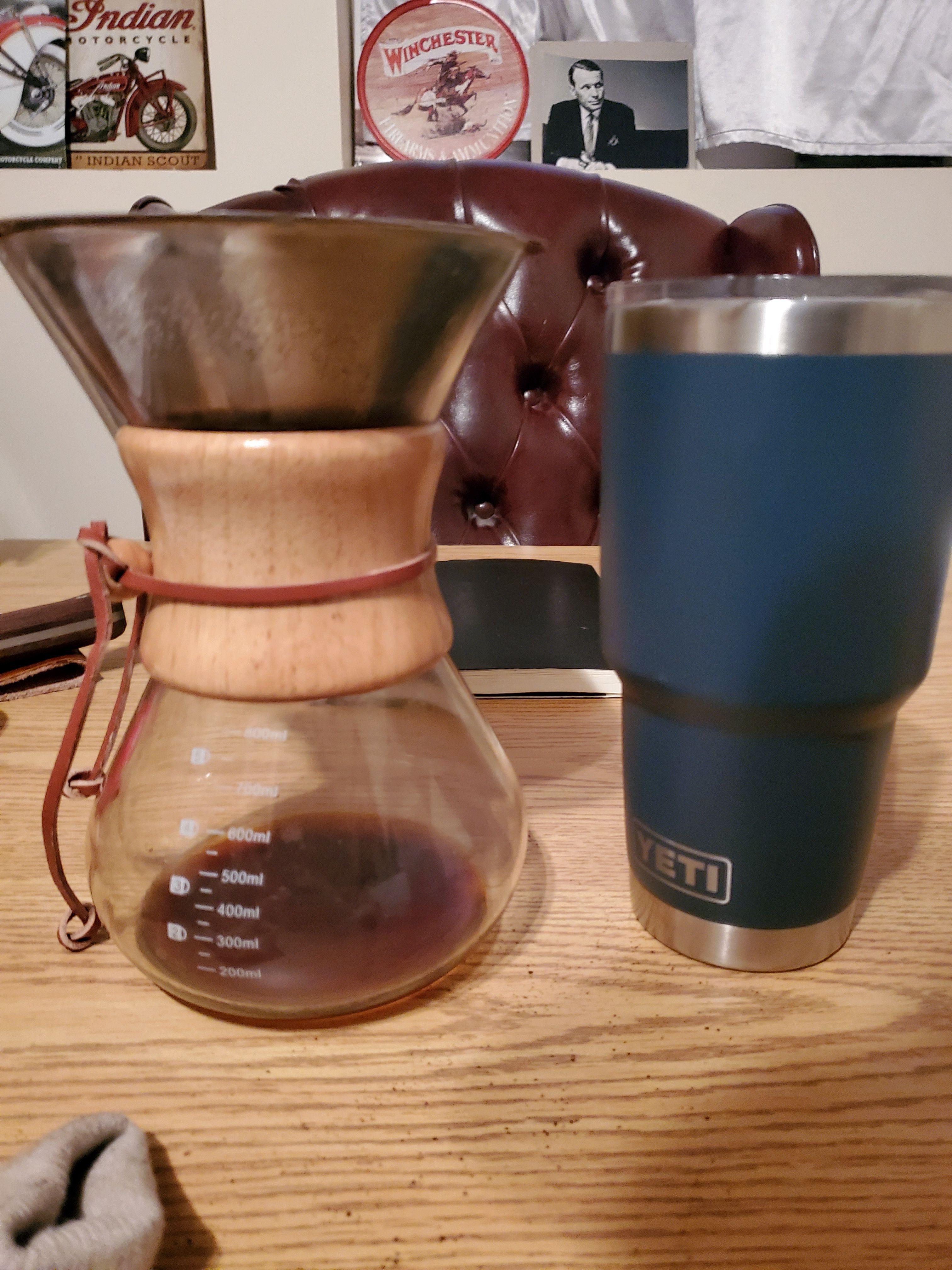 Morning Coffee & Sales