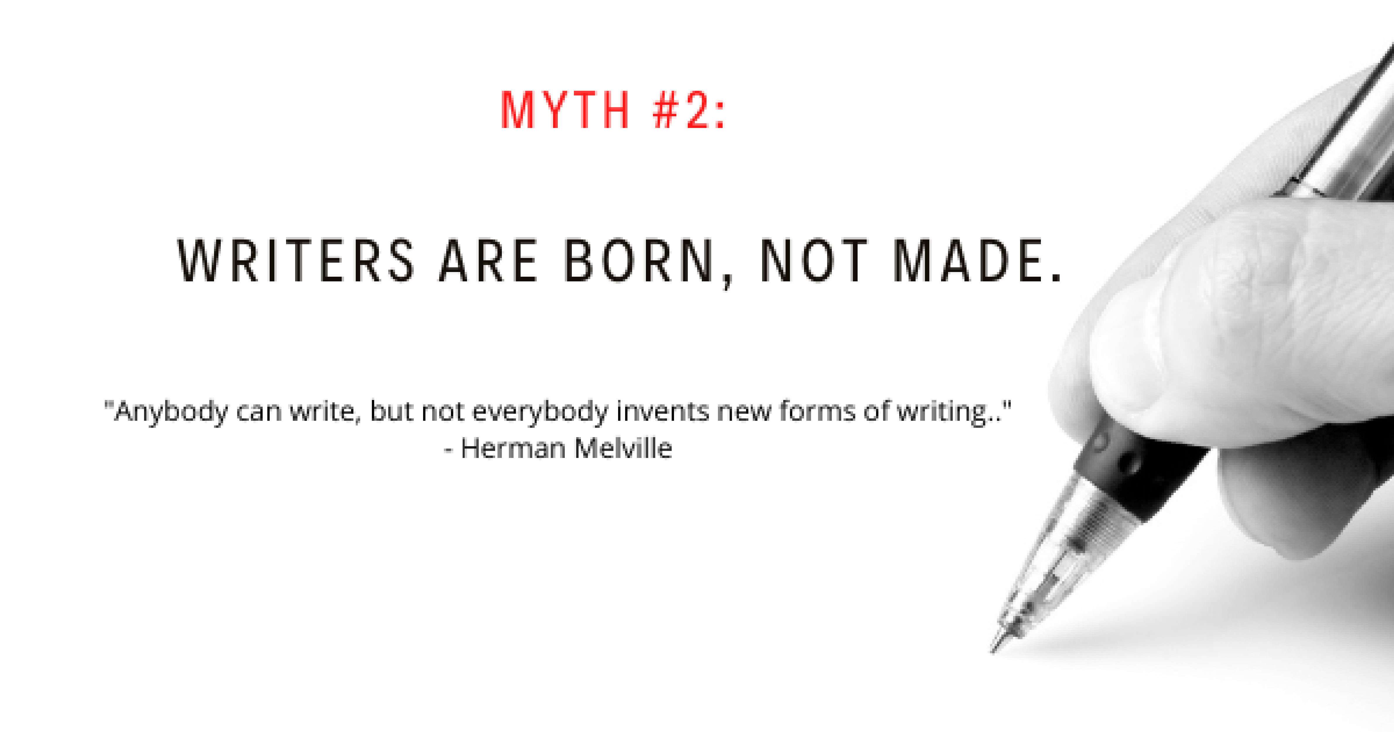 Writing Myth #2