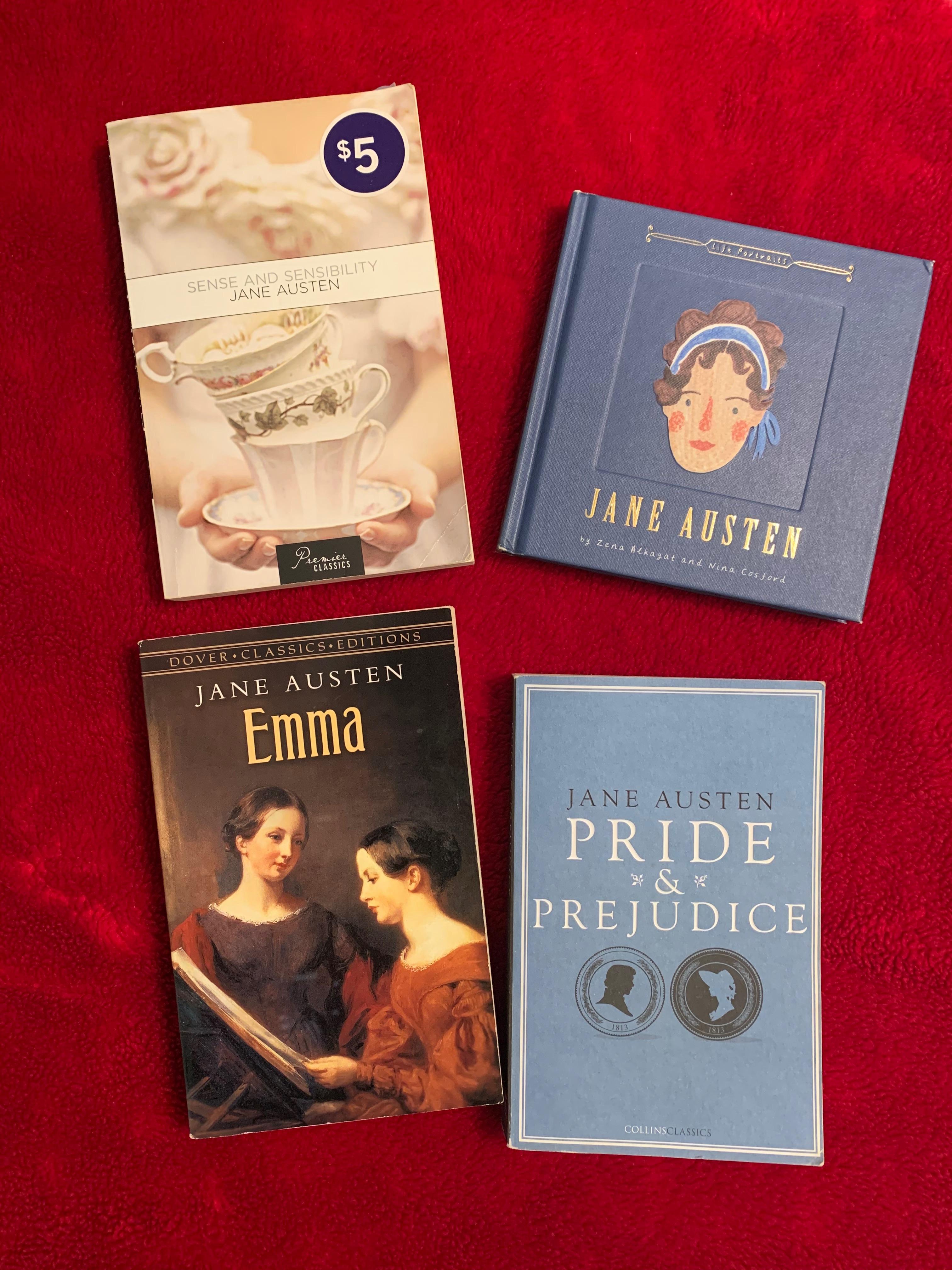 My Jane Austen collection