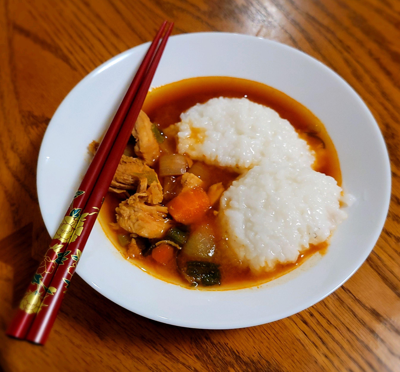 Spicy Korean Braised Chicken