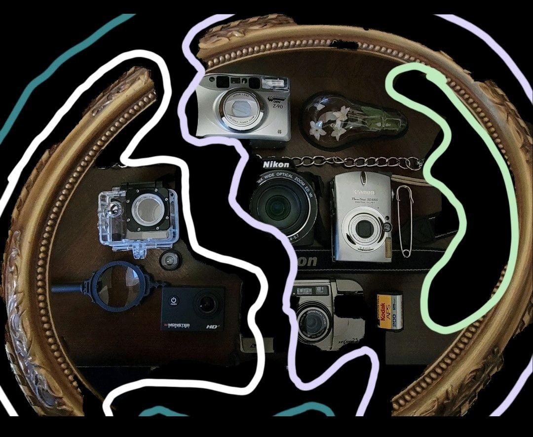 Cameras, the beholder of memories.