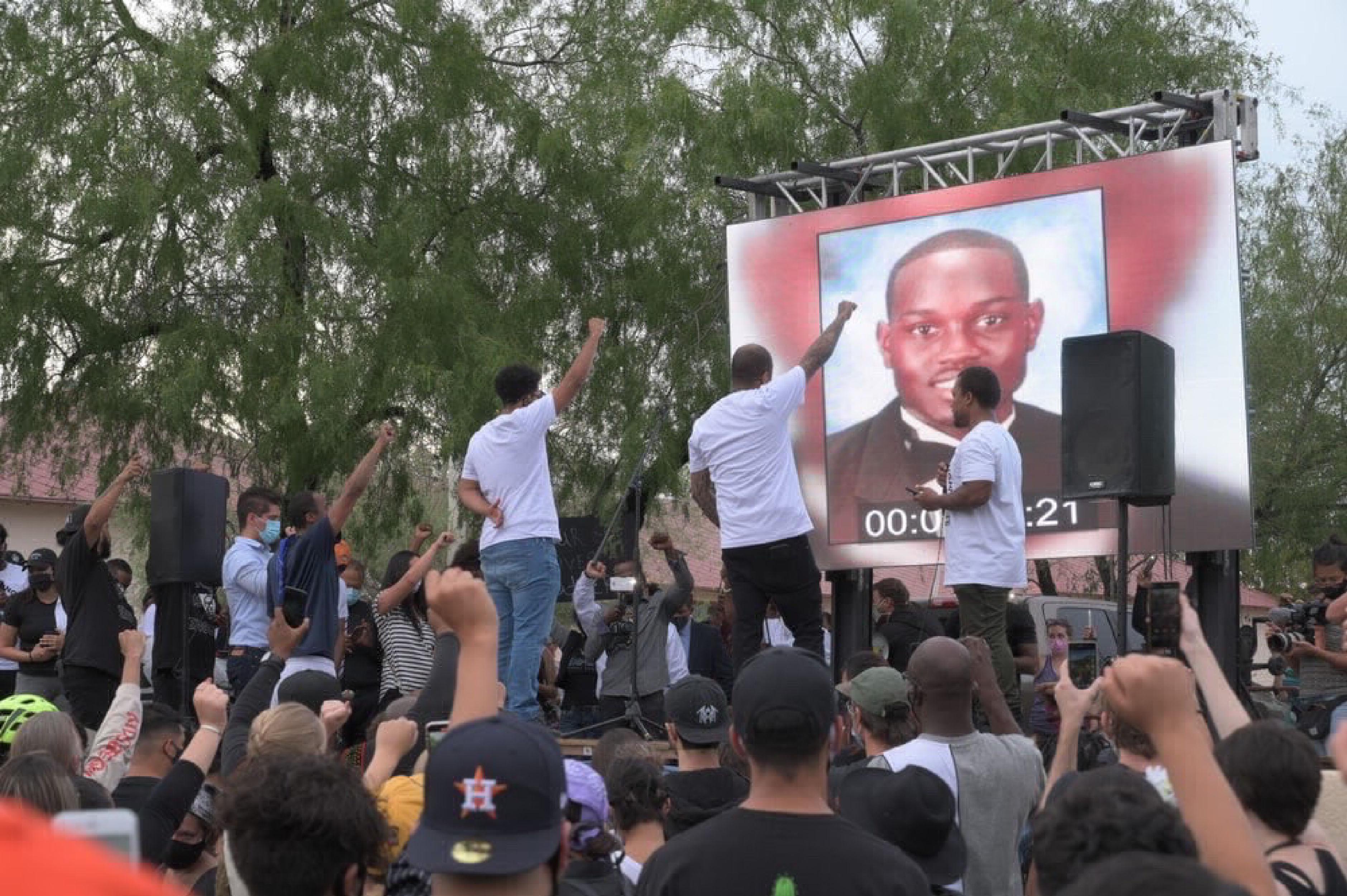 Ahmaud Arbery demonstration