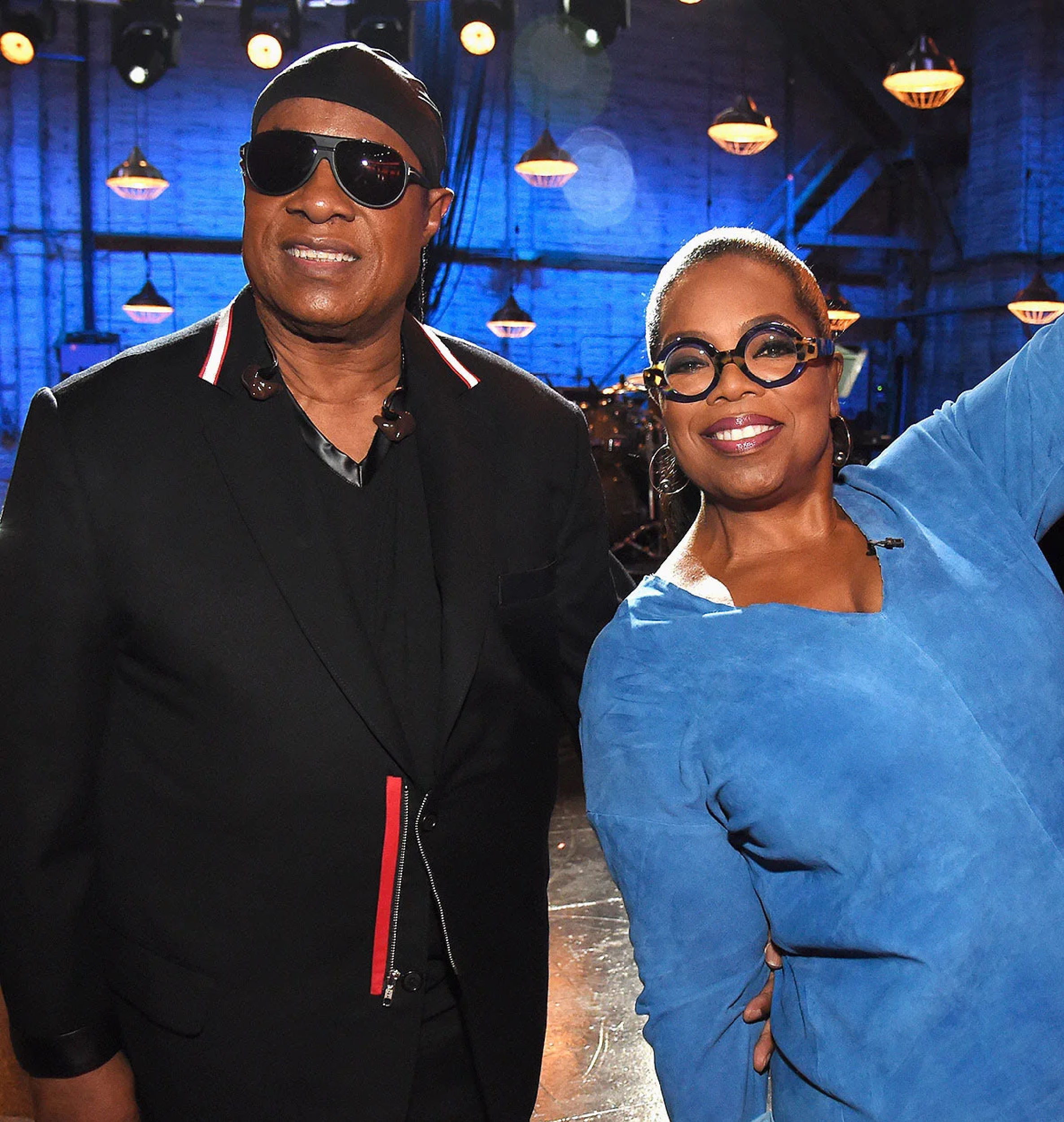 Stevie Wonder tells Oprah he's g