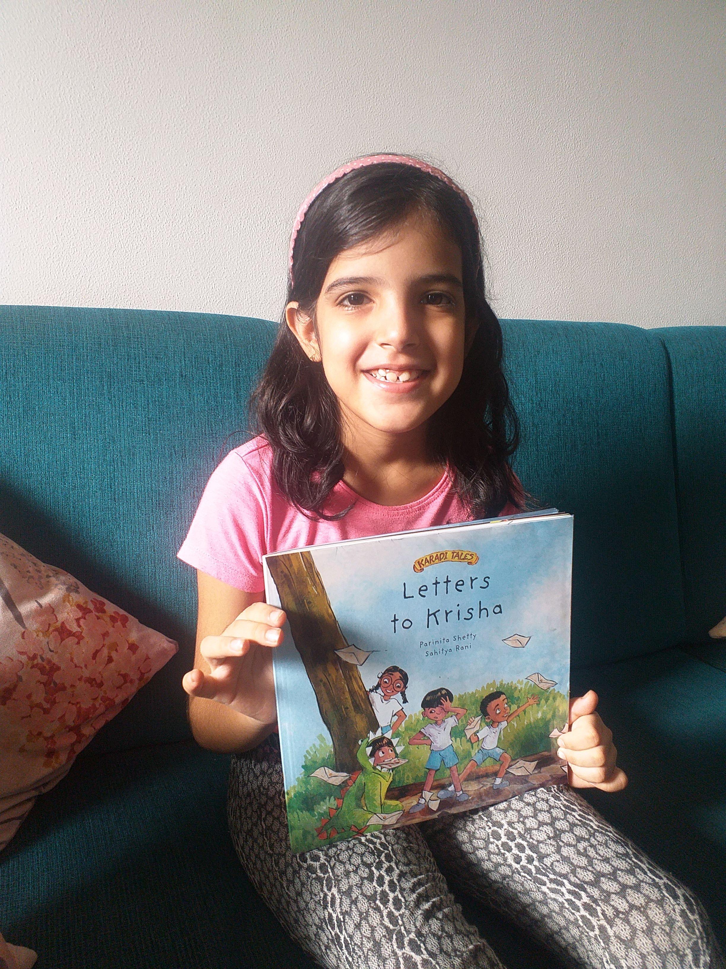 Letters to Krisha, read aloud by Shreeya Tikyani
