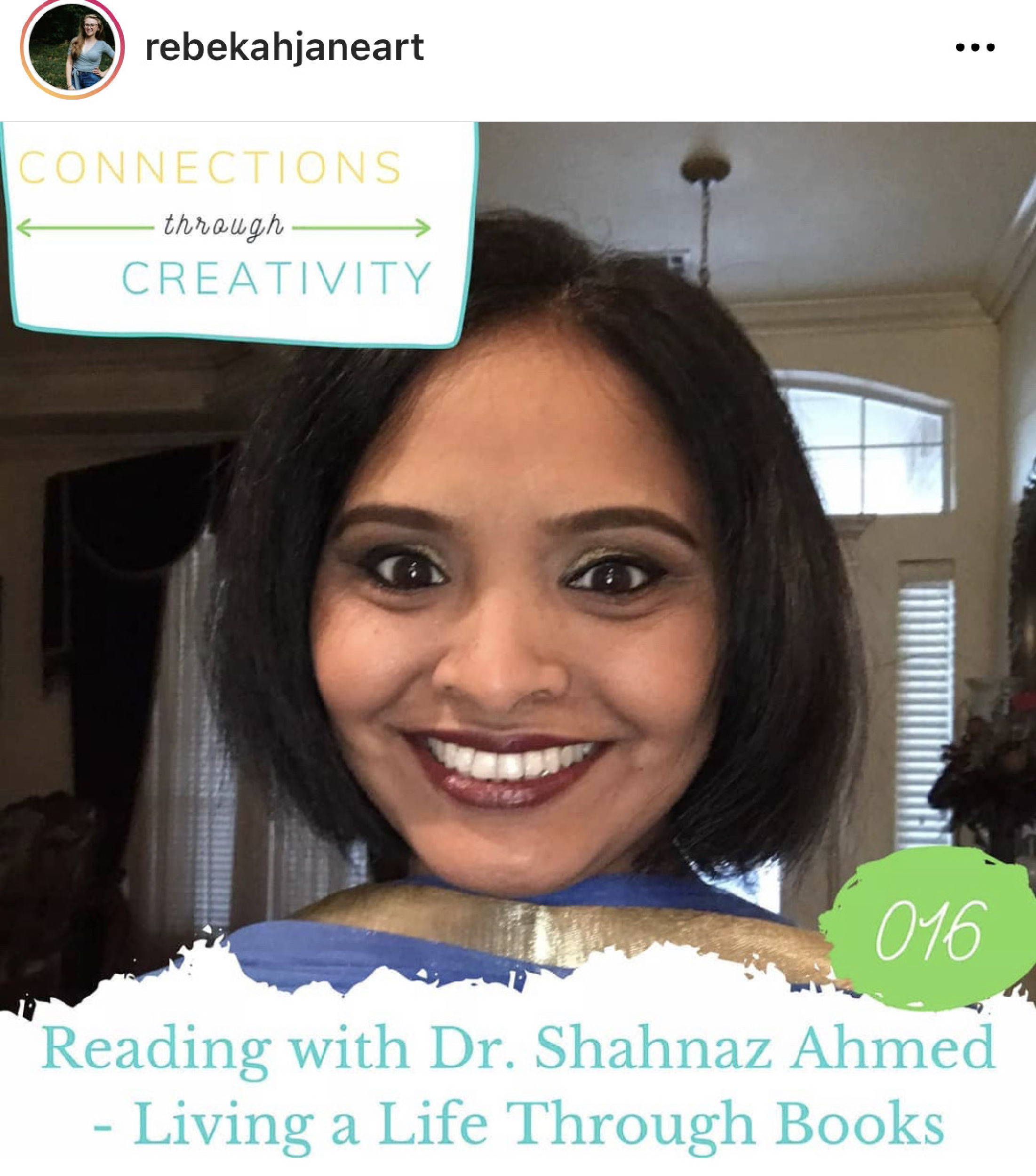 From connections through creativity podcast!