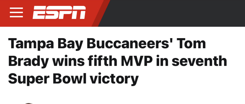 Brady Wins Again