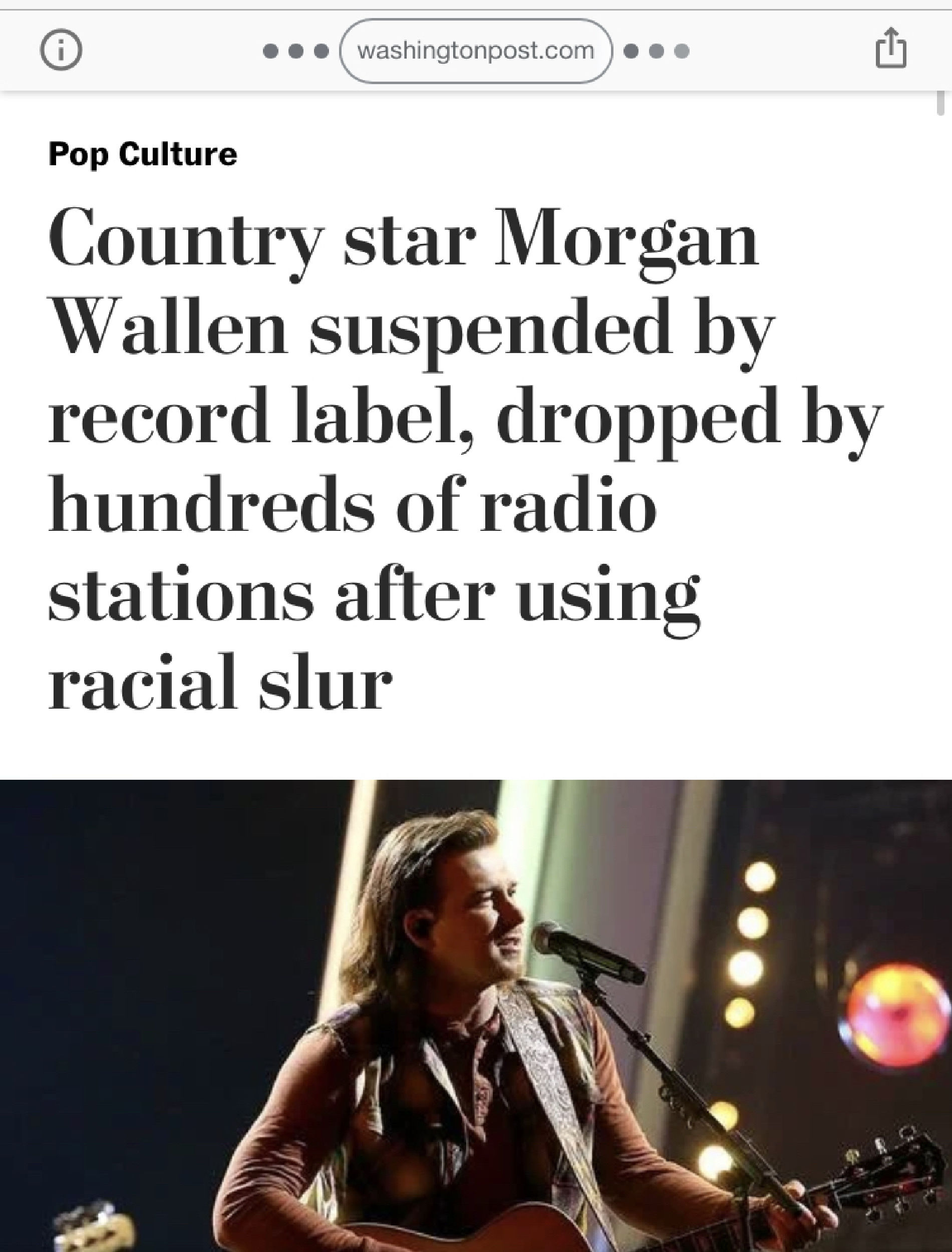 Morgan Wallen's Career Death Sen