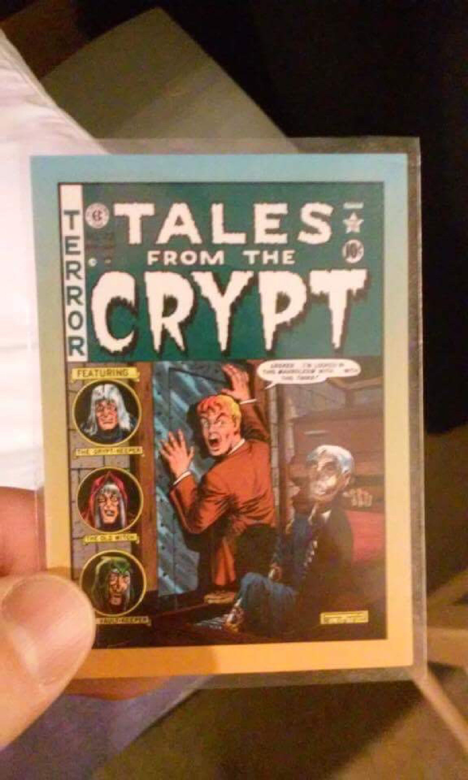 Comic cover art cards - Tales From The Crypt