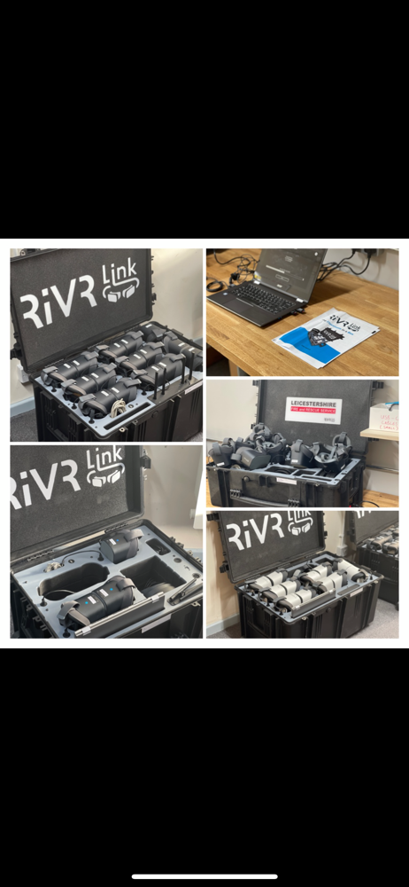 Uploaded by @Alextench RiVR link kits going out!!