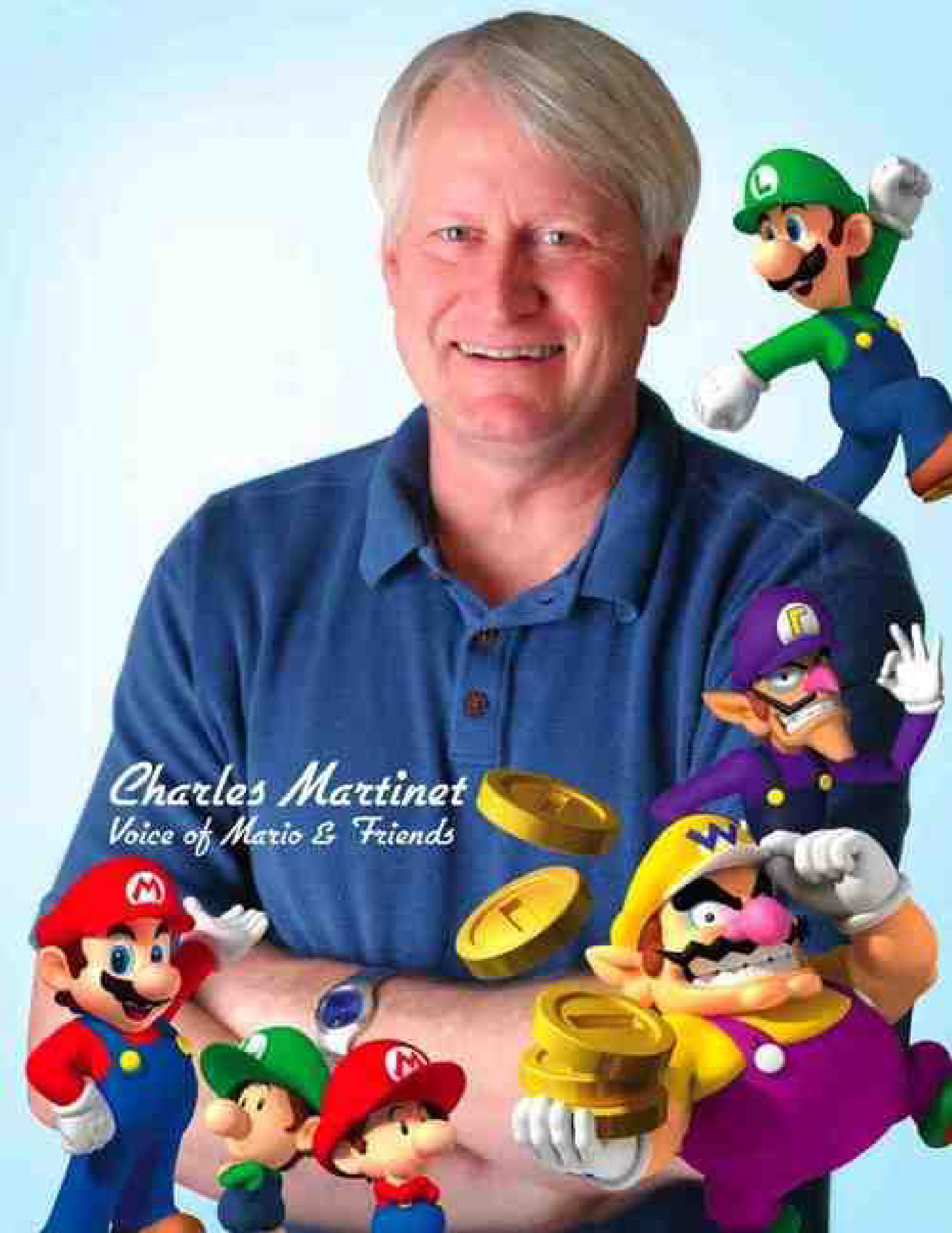 Charles martinet had brought fun for me growing up