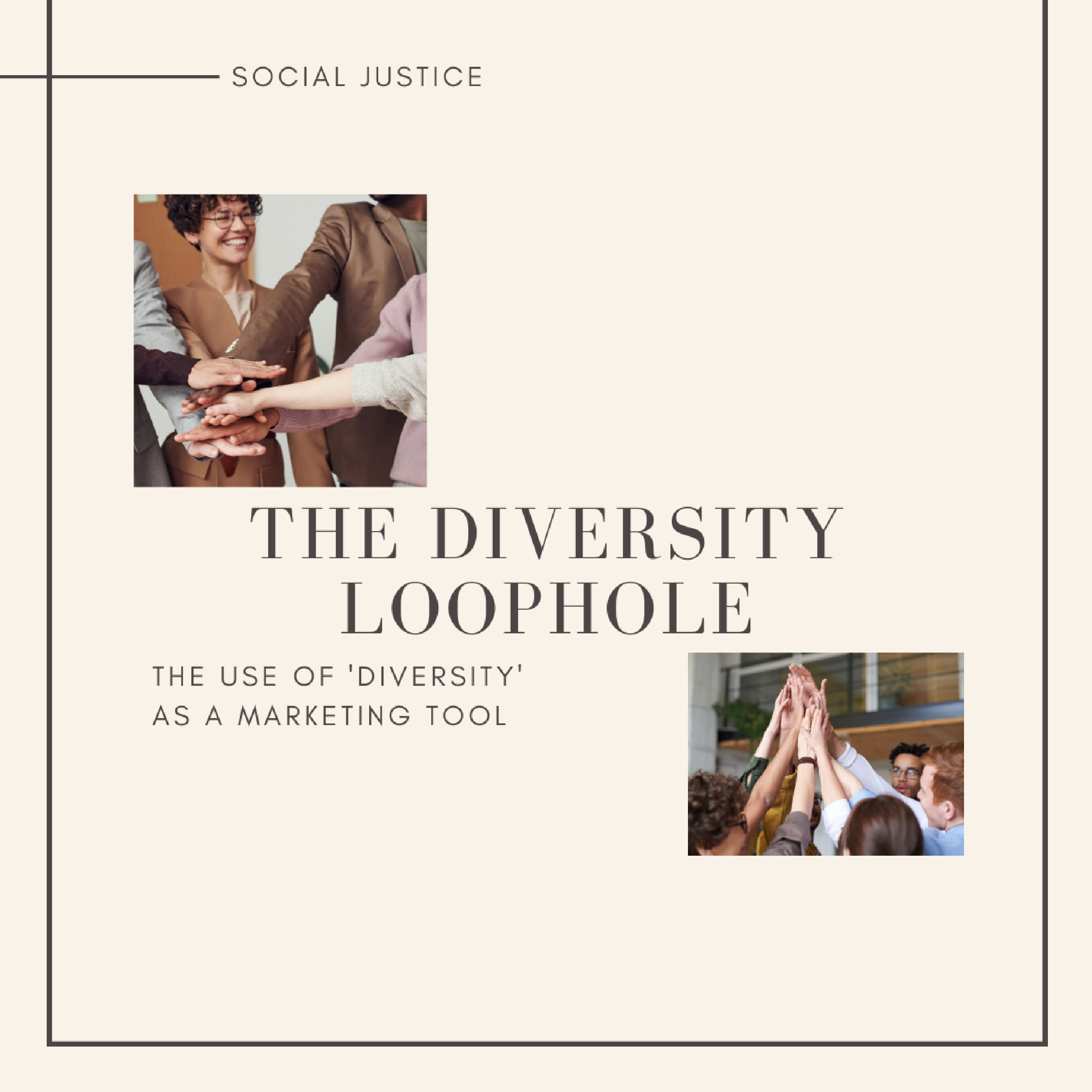 Diversity loophole by @izzy