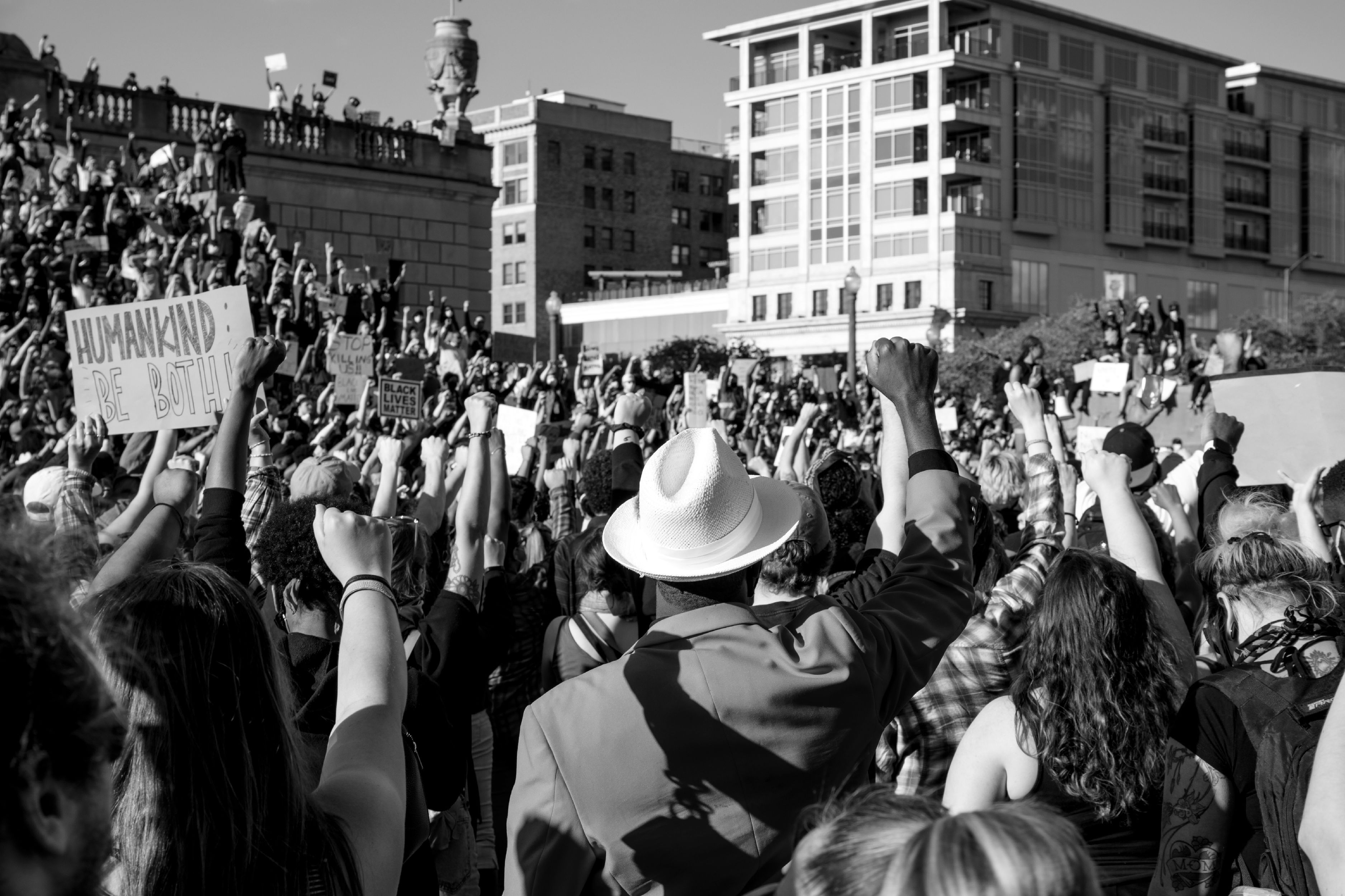 Indianapolis, IN Black Lives Matter protest