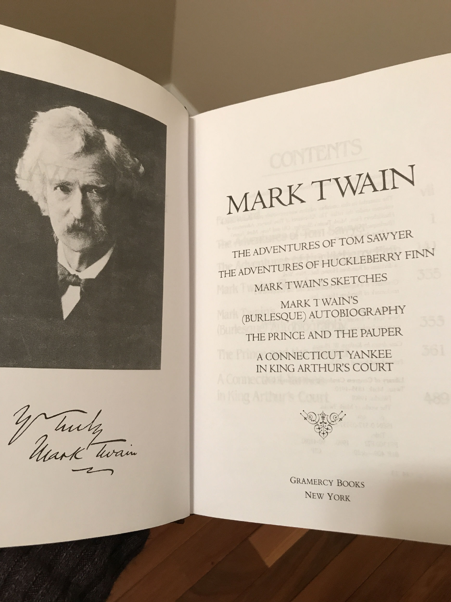 Cover of Mark Twain Selected Works