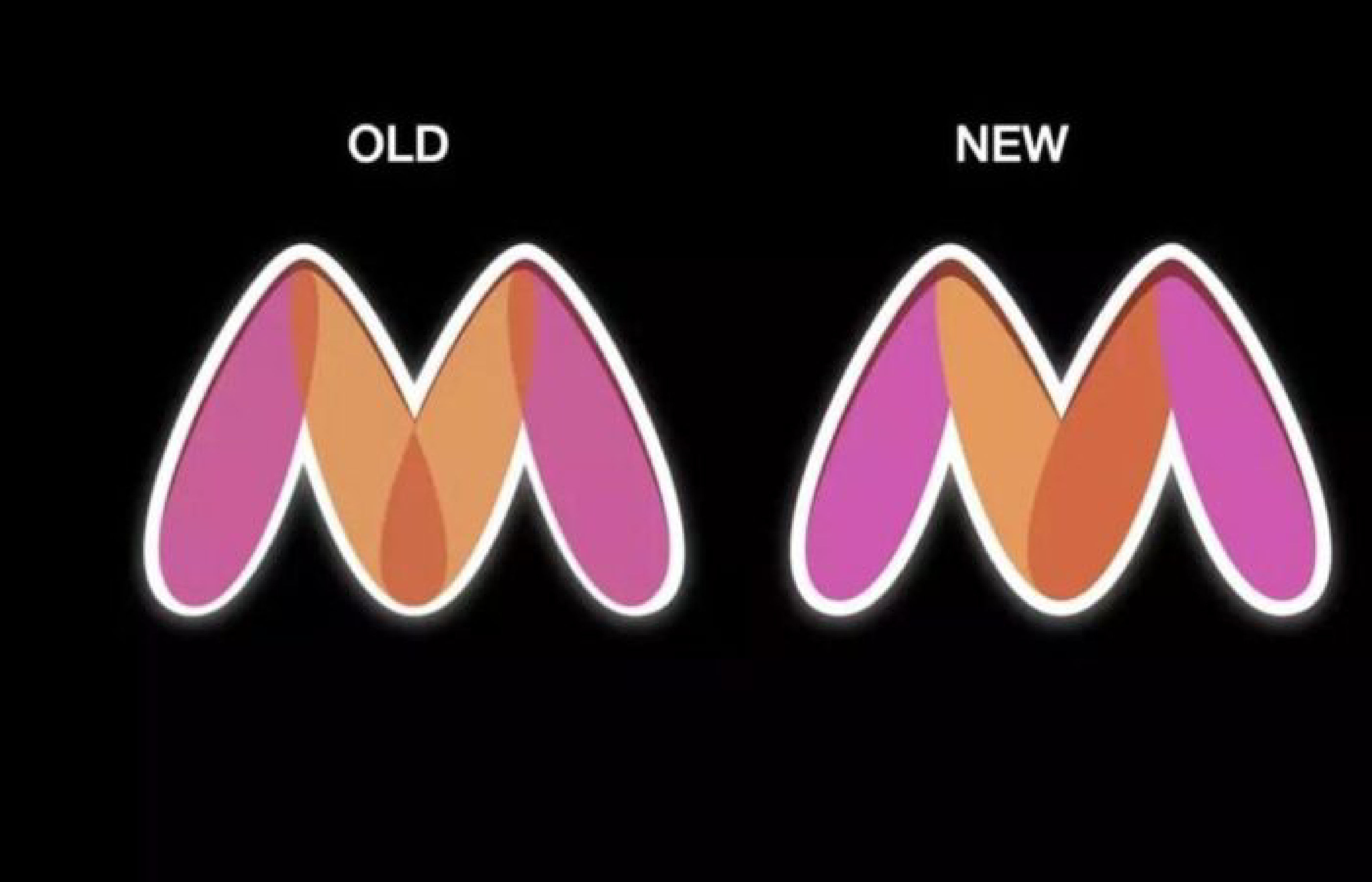 Myntra - new and old logo