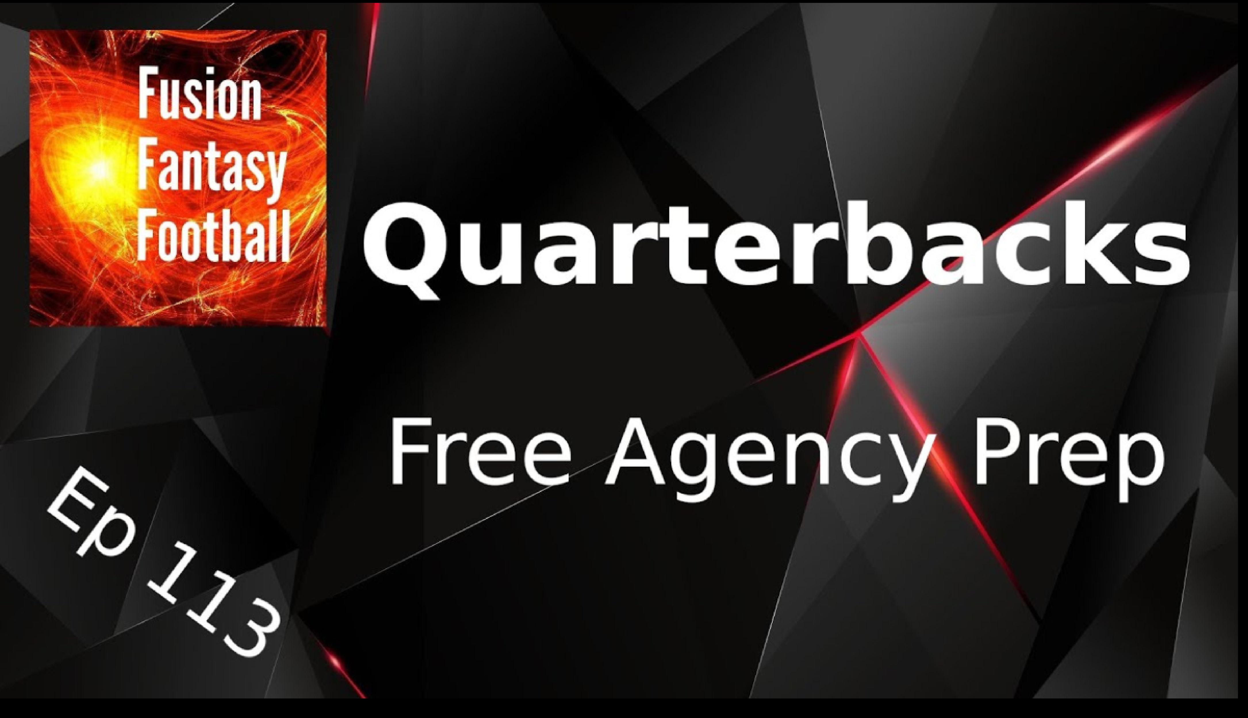 Dynasty Quarterbacks Talk