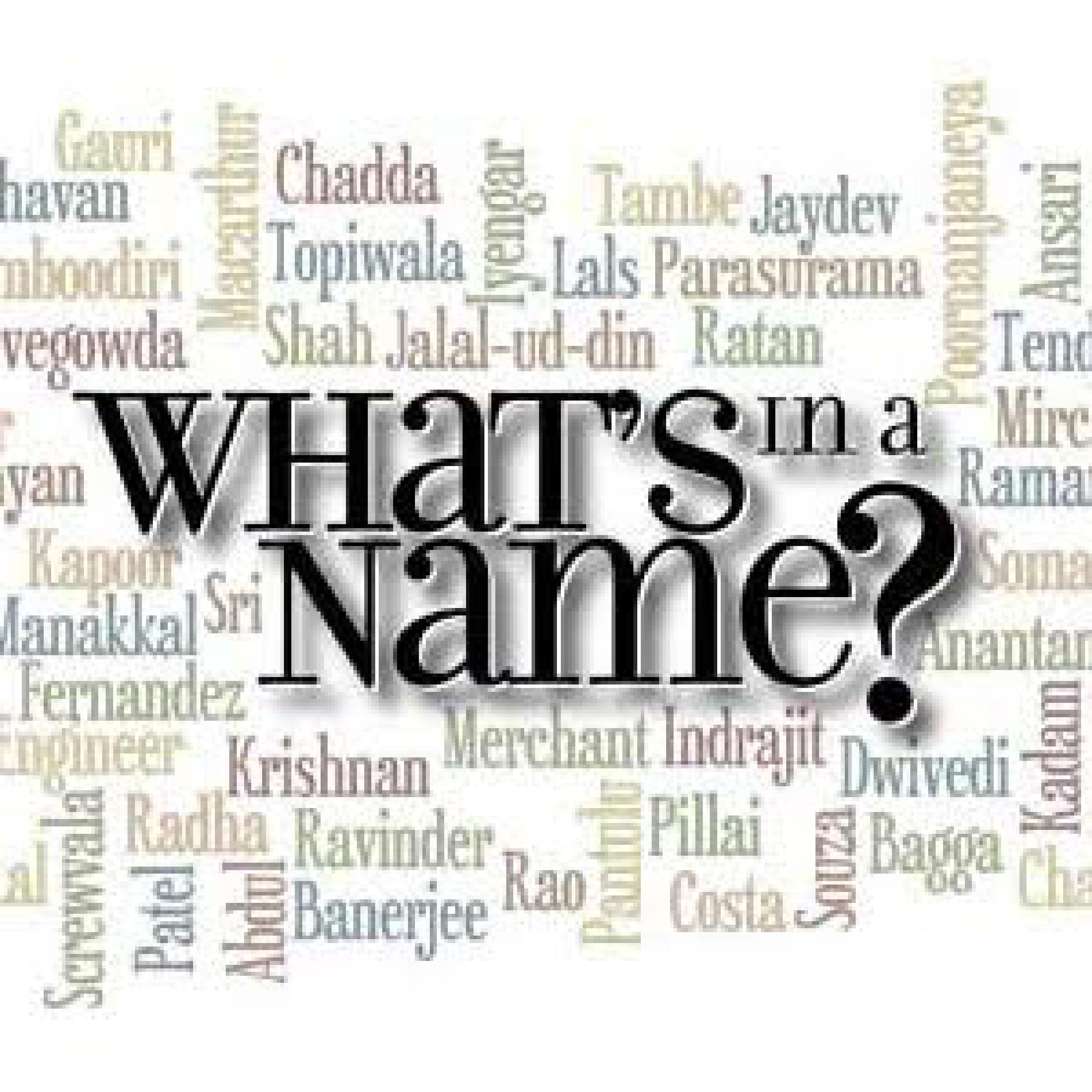 Last names??