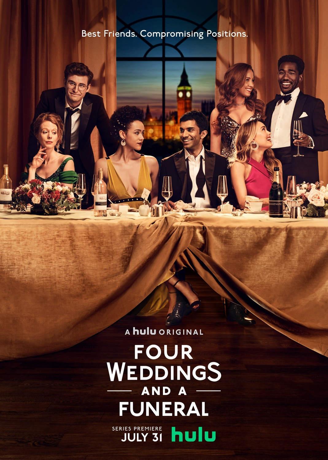 For Weddings and a Funeral TV series review