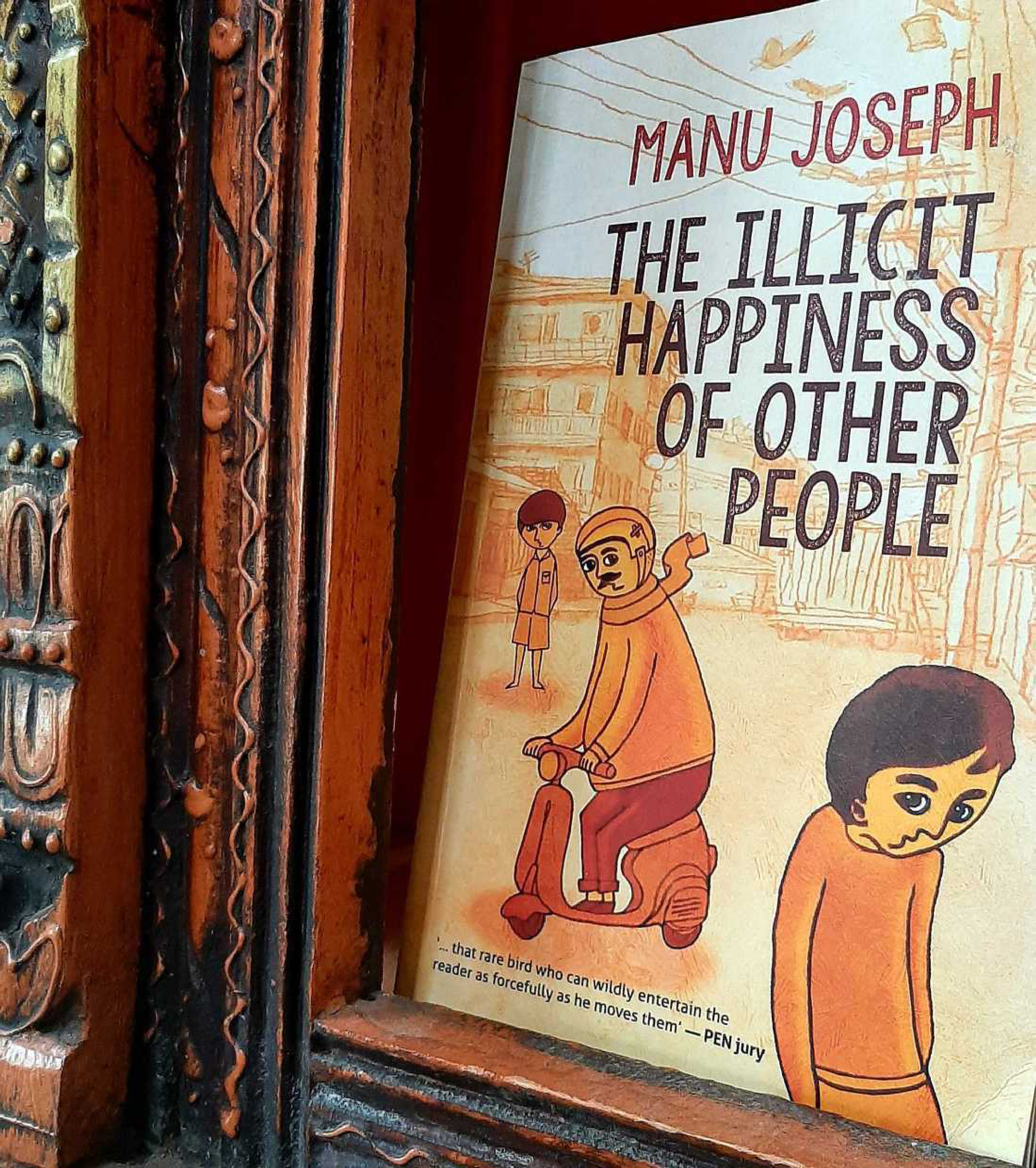 The Illicit Happiness of Other People, Manu Joseph