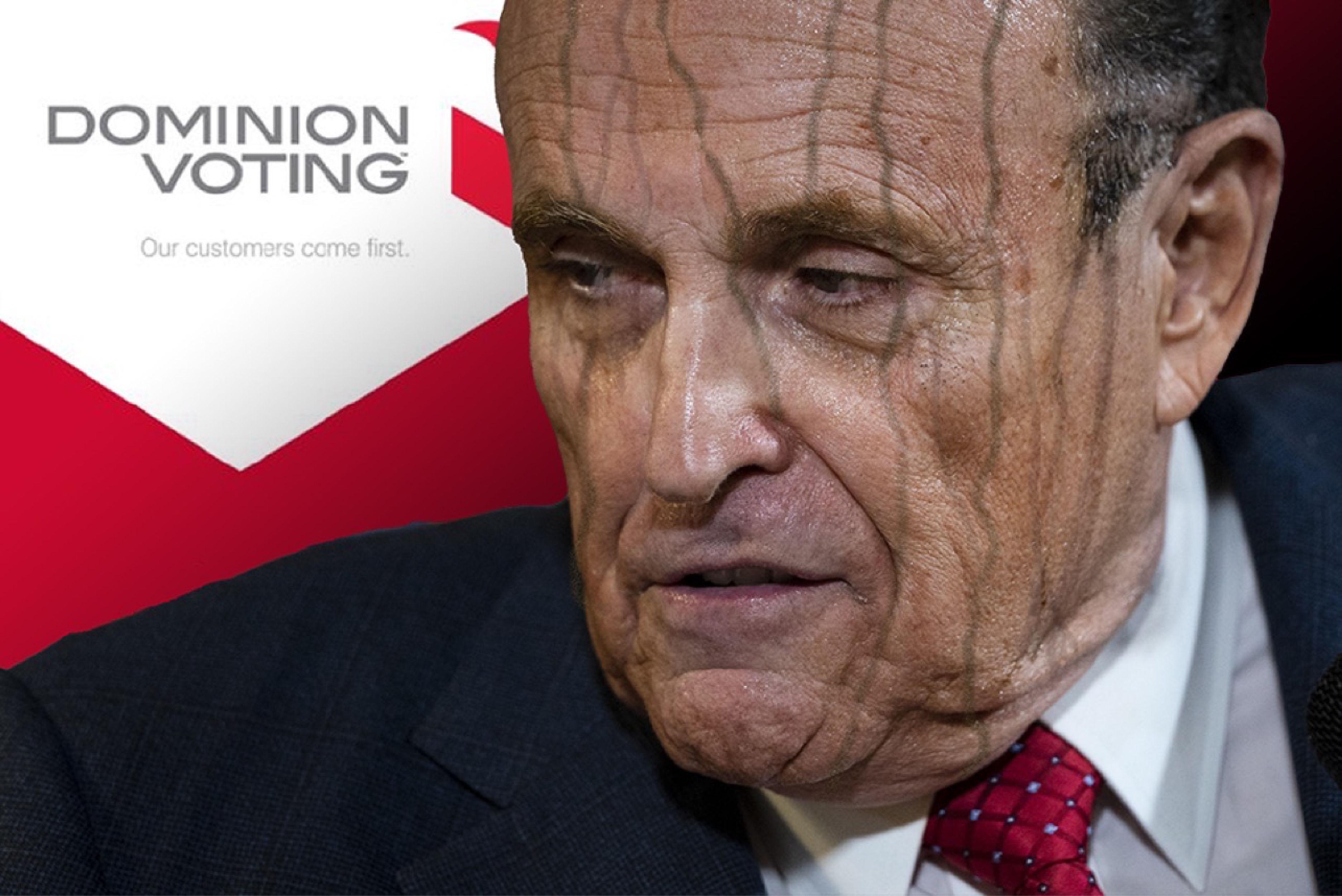 Leakin' Rudy!