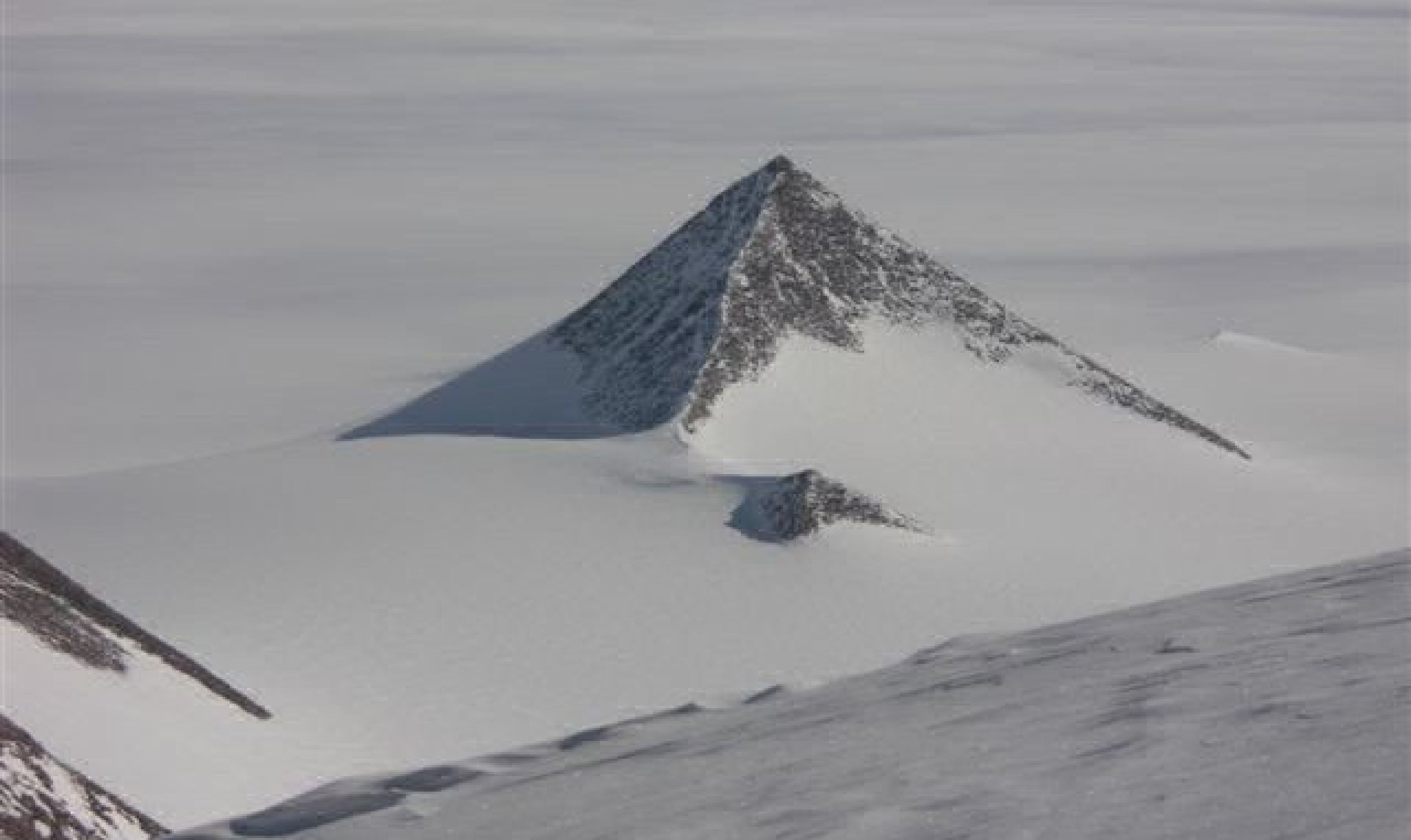 pyramid found in Antarctica