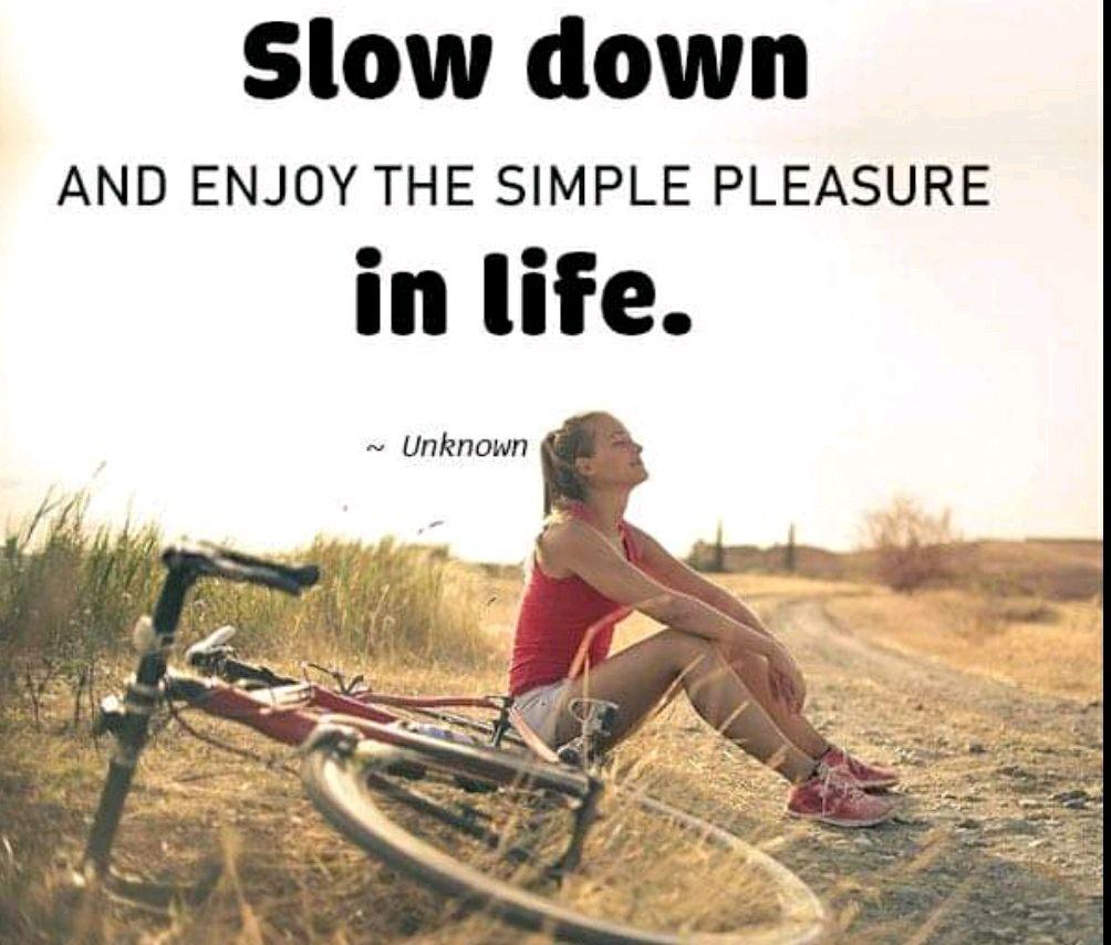 SIMPLE PLEASURES OF LIFE