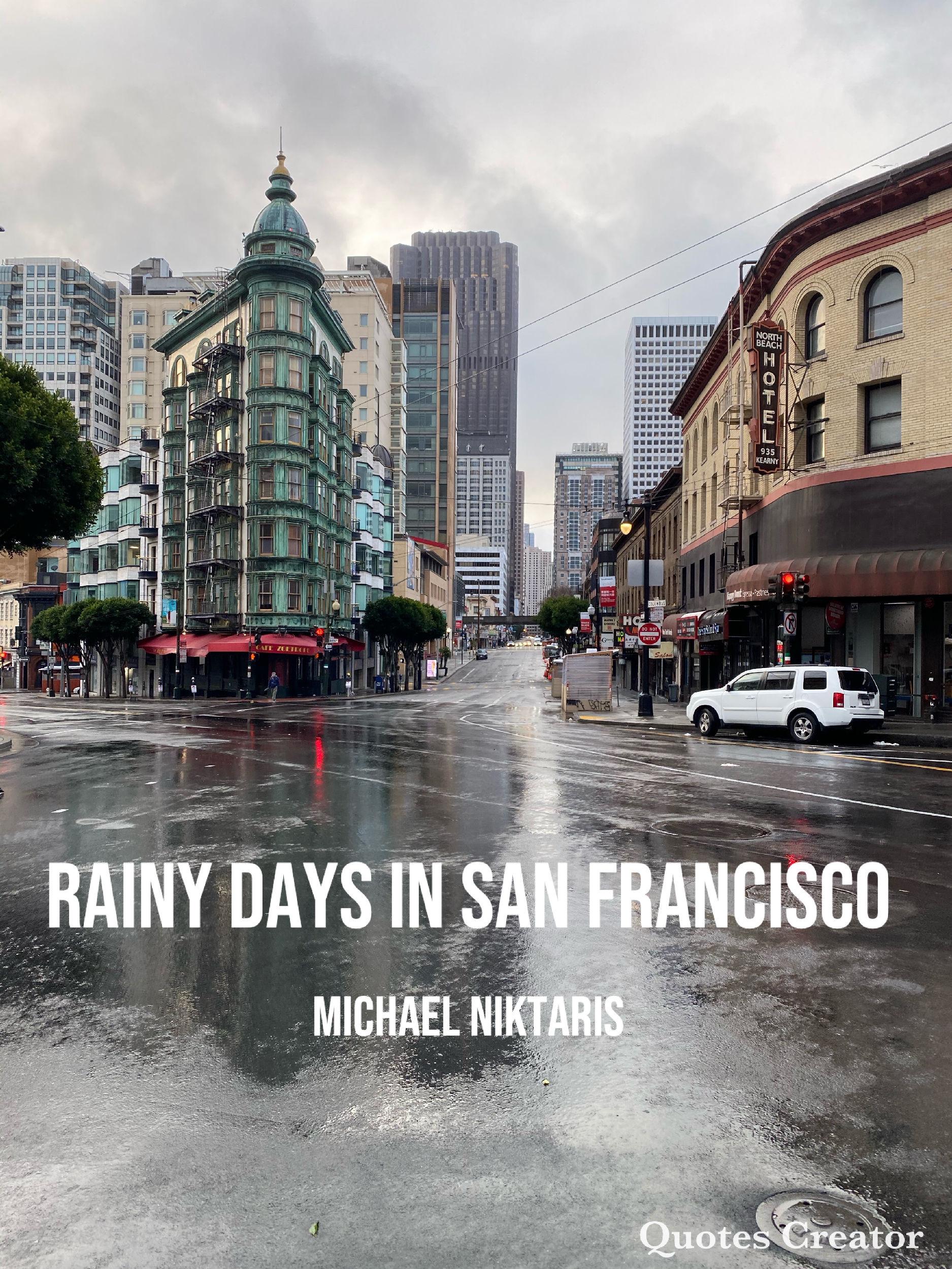 Columbus Ave. and Kearny in San Francisco